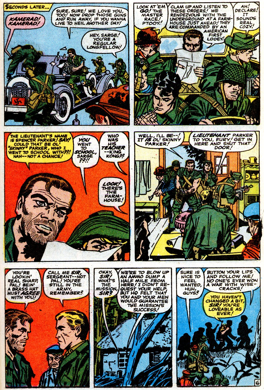Read online Sgt. Fury comic -  Issue # _Special 5 - 43