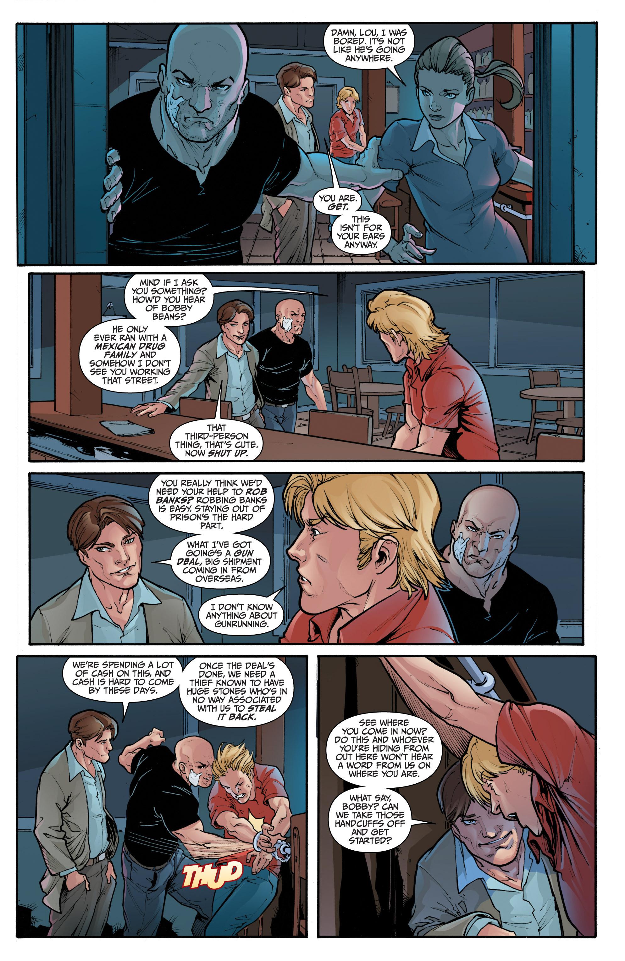 Read online 3 Guns comic -  Issue #1 - 8