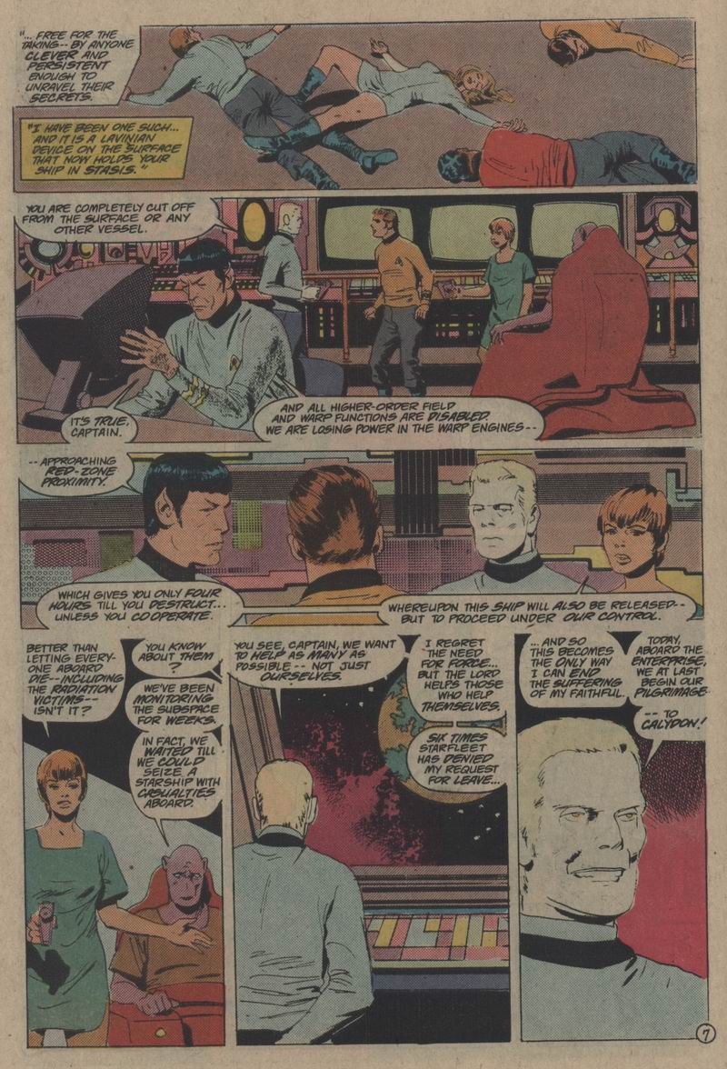 Star Trek (1984) #56 #59 - English 8