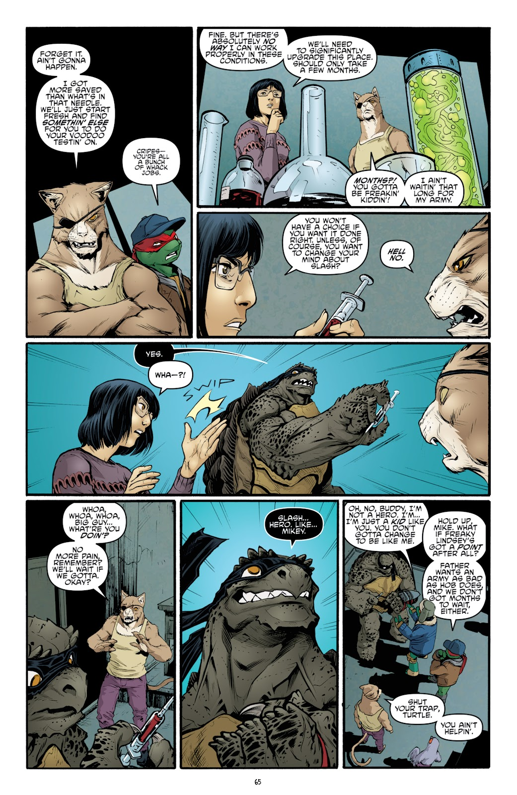 Read online Teenage Mutant Ninja Turtles: The IDW Collection comic -  Issue # TPB 4 (Part 3) - 72