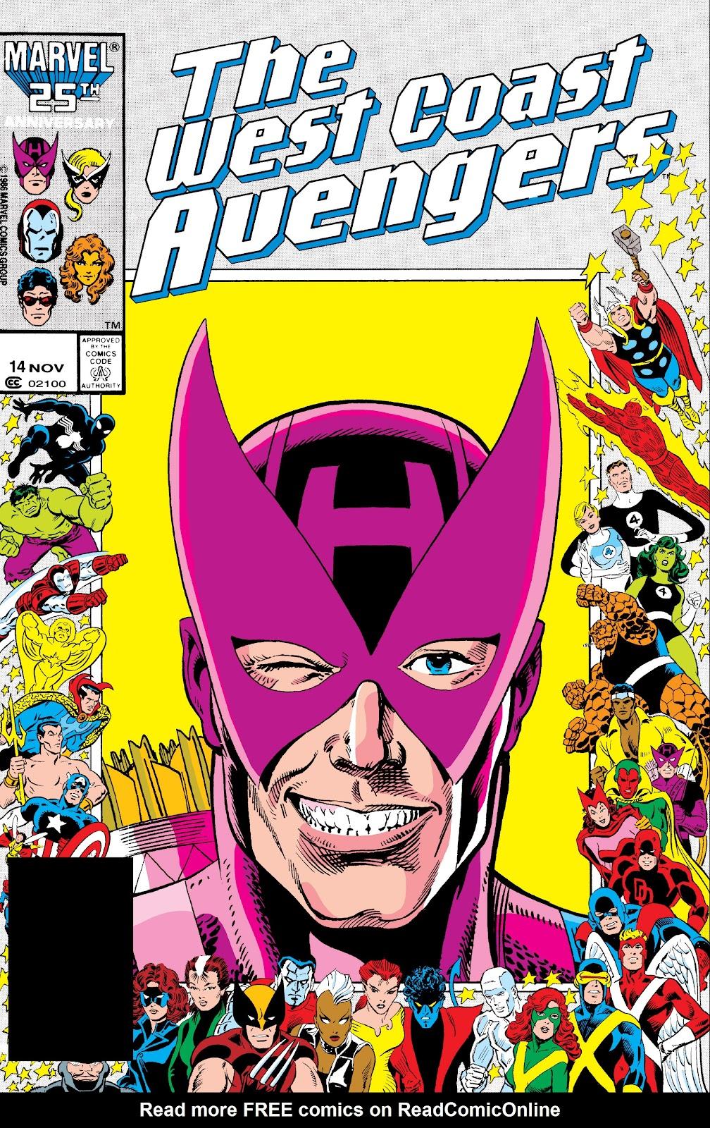West Coast Avengers (1985) 14 Page 1