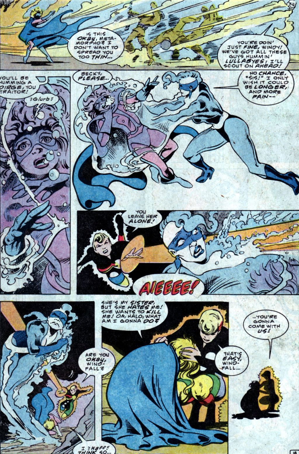 Read online Adventures of the Outsiders comic -  Issue #35 - 20