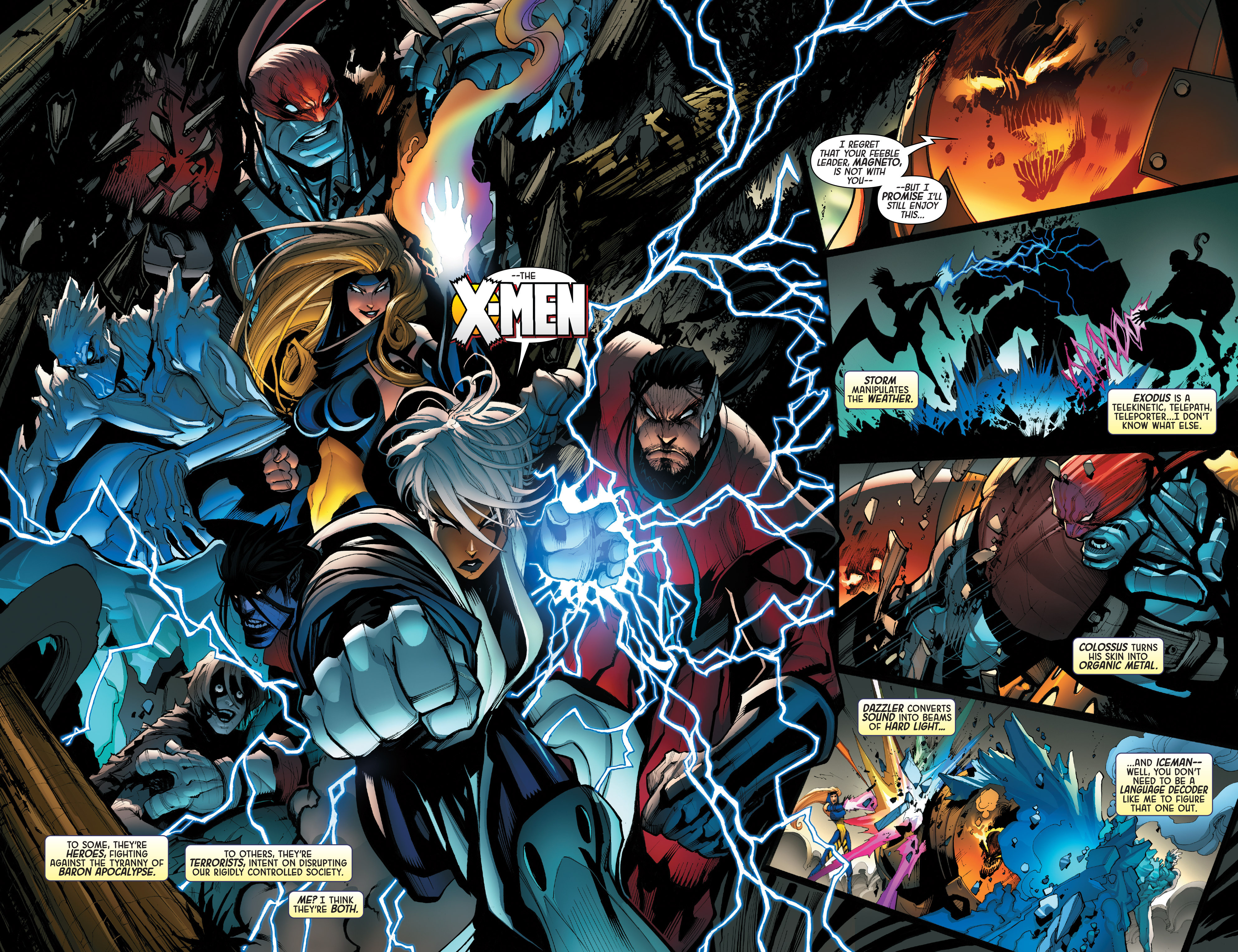 Read online Age of Apocalypse (2015) comic -  Issue #1 - 12