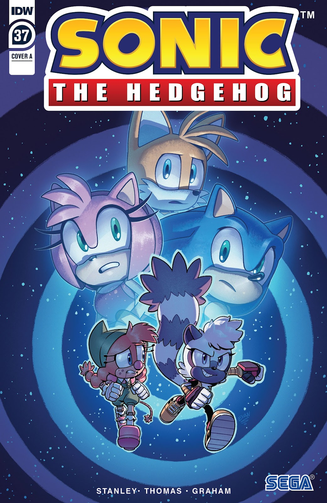 Sonic the Hedgehog (2018) issue 37 - Page 1