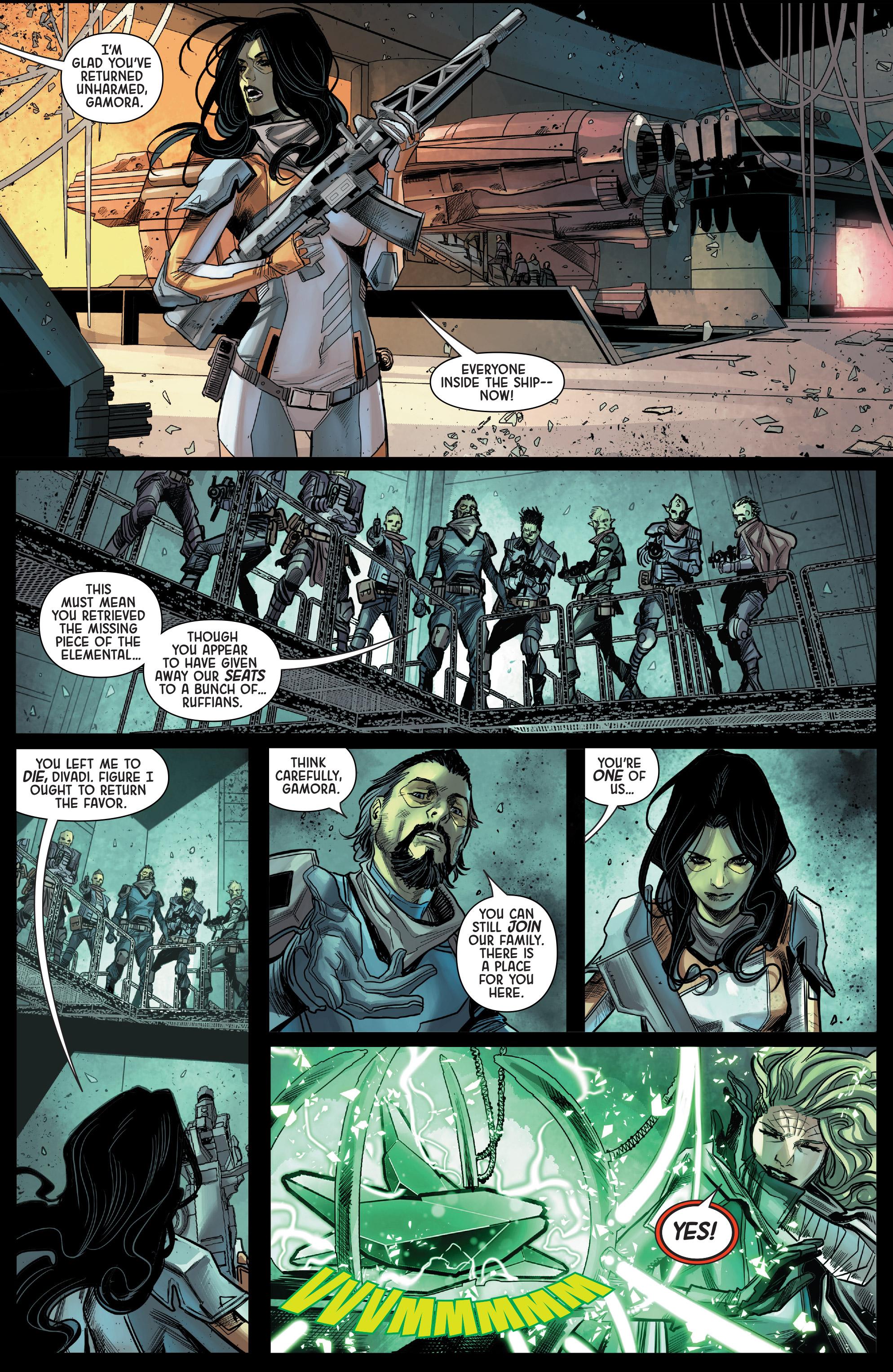 Read online Gamora comic -  Issue #5 - 10