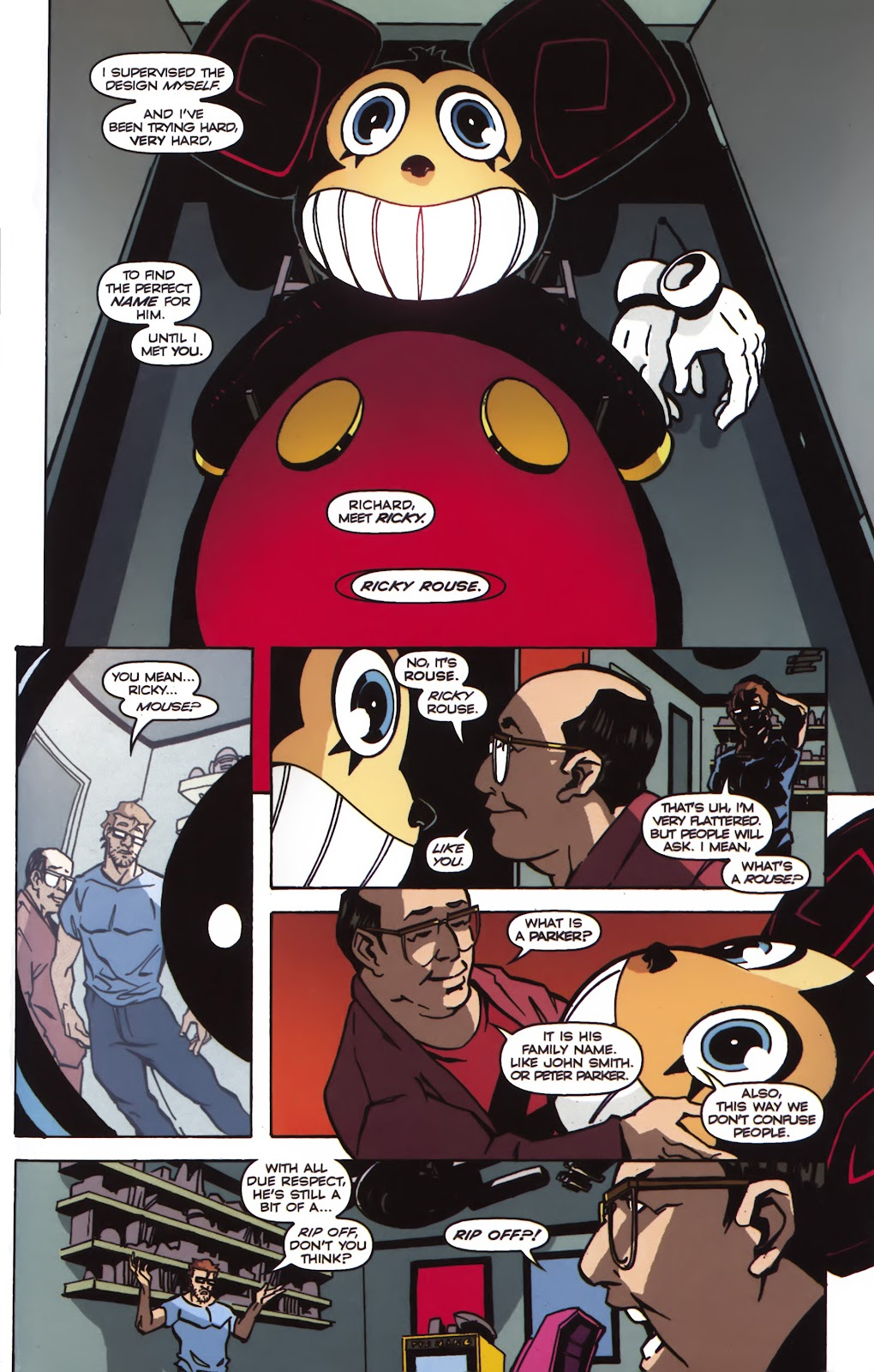 Read online Ricky Rouse Has A Gun comic -  Issue # TPB (Part 1) - 34