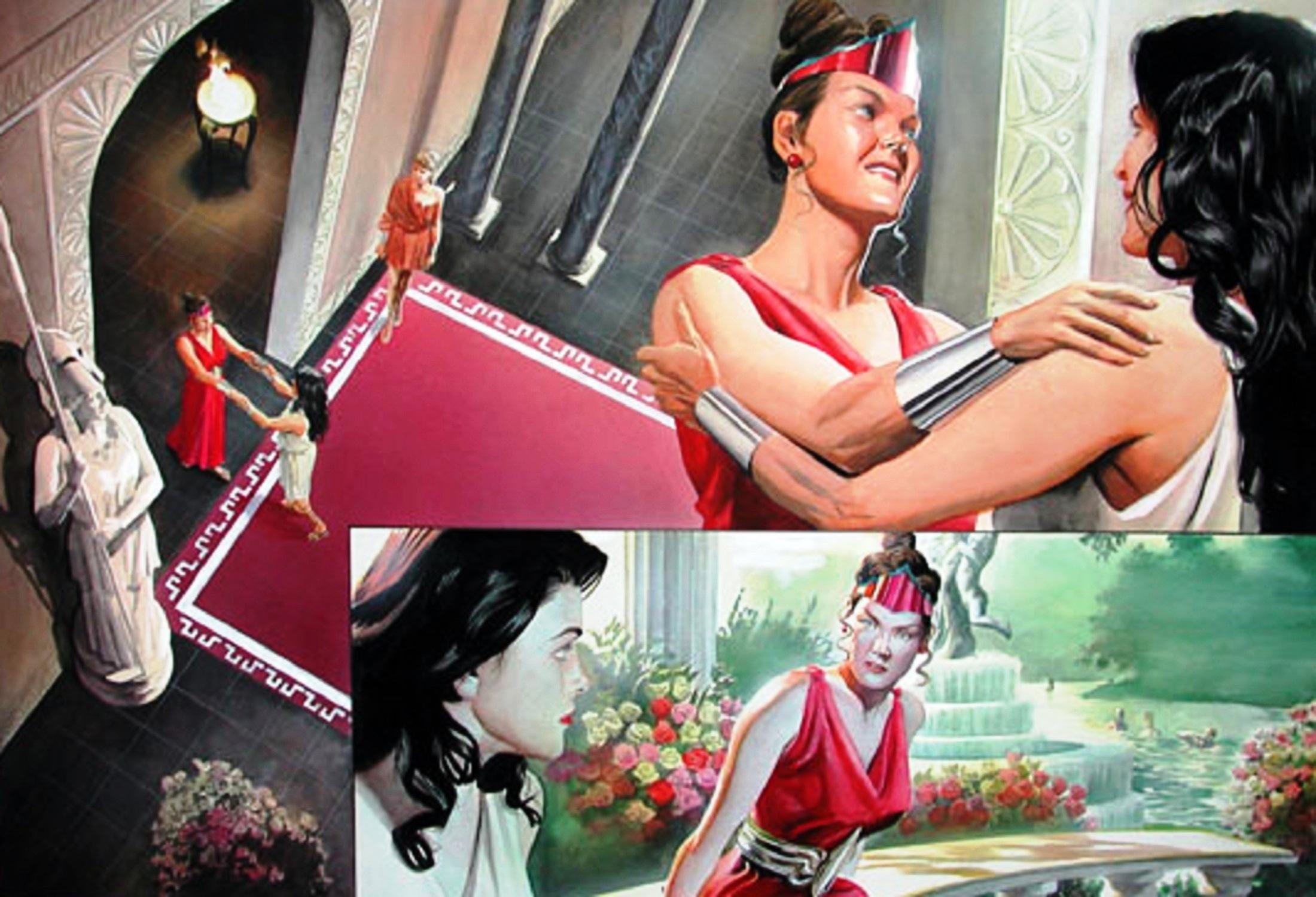 Read online Wonder Woman: Spirit of Truth comic -  Issue # Full - 24