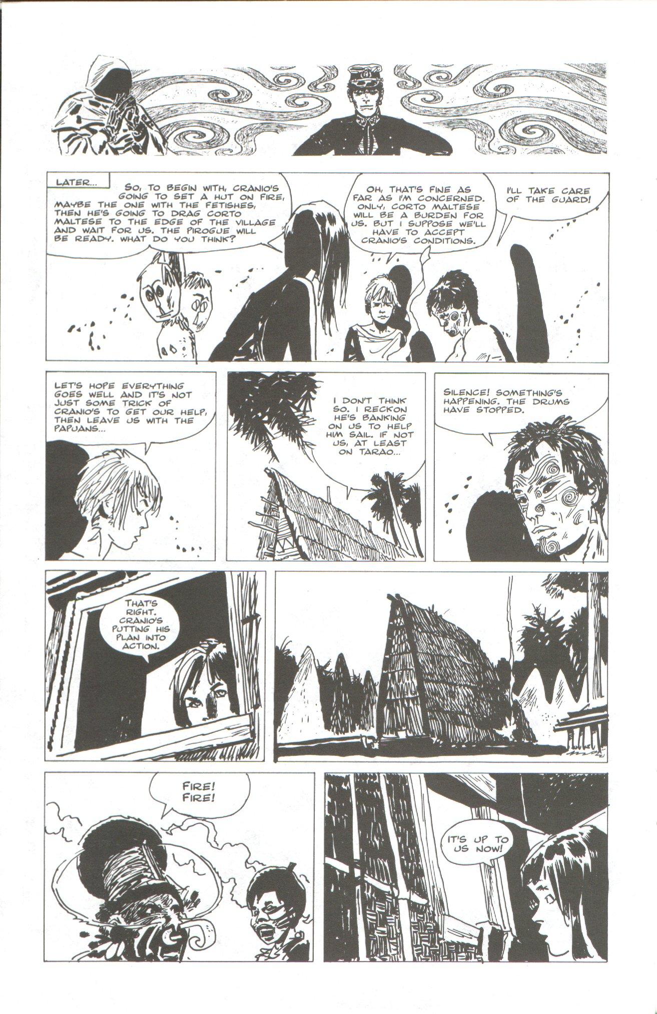 Read online Corto Maltese: Ballad of the Salt Sea comic -  Issue #2 - 18
