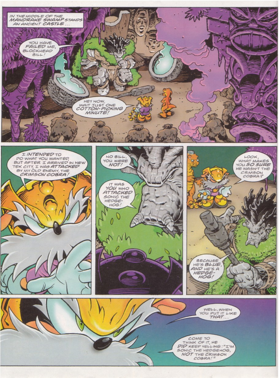 Read online Sonic the Comic comic -  Issue #136 - 4