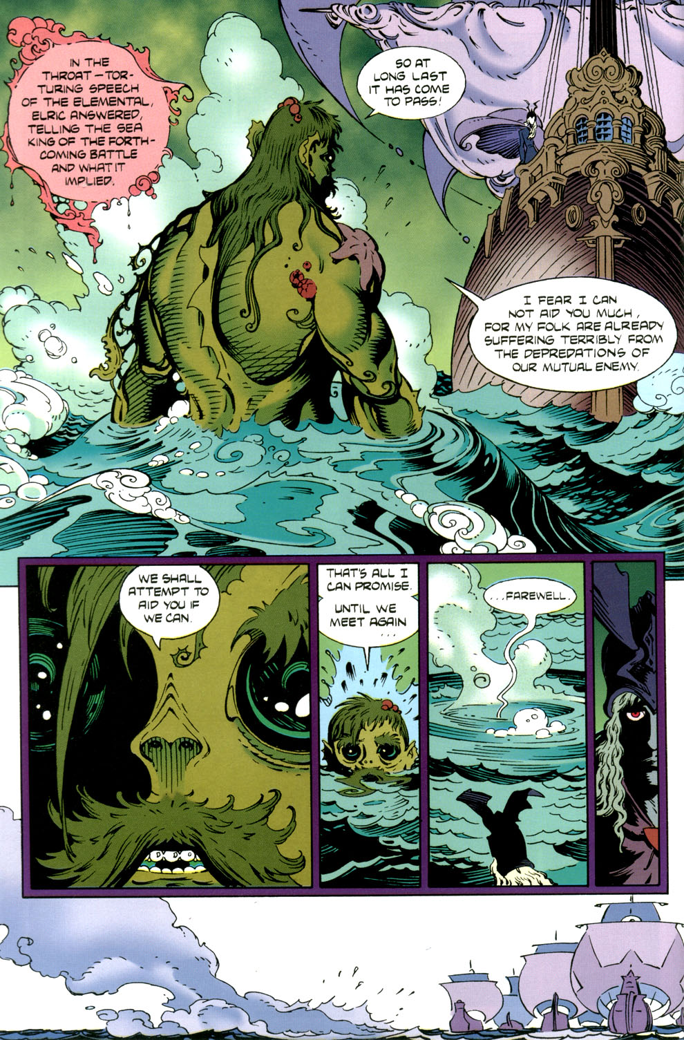 Read online Elric: Stormbringer comic -  Issue #4 - 28