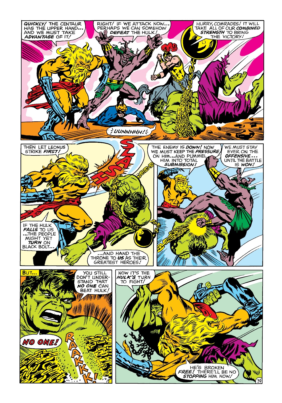 Read online Marvel Masterworks: The Incredible Hulk comic -  Issue # TPB 4 (Part 2) - 72