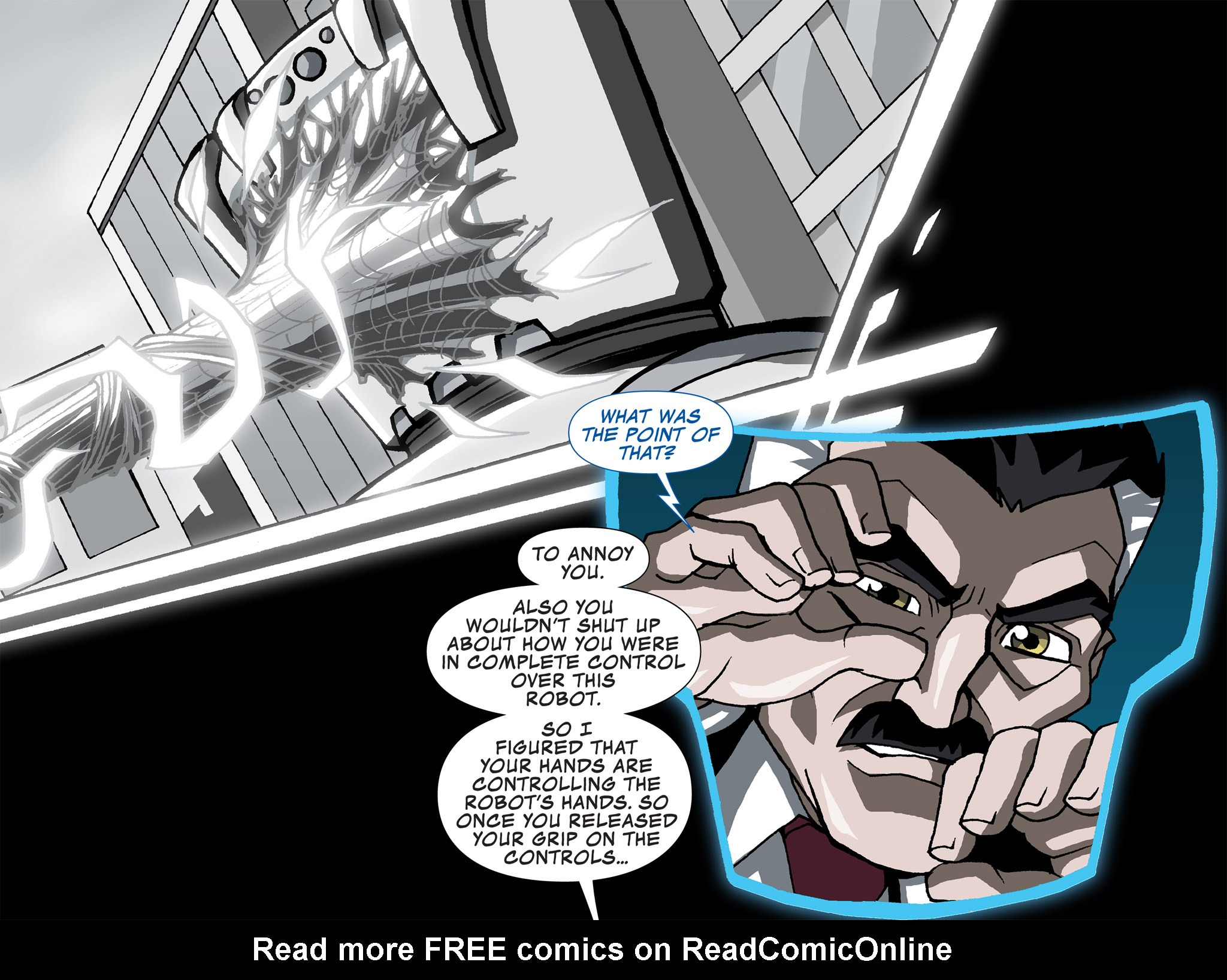 Read online Ultimate Spider-Man (Infinite Comics) (2015) comic -  Issue #4 - 11