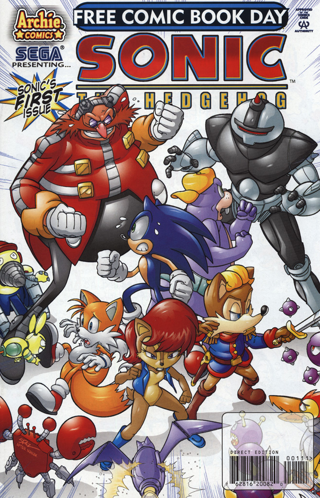 Read online Sonic the Hedgehog Free Comic Book Day Edition comic -  Issue # Special 2 - 1