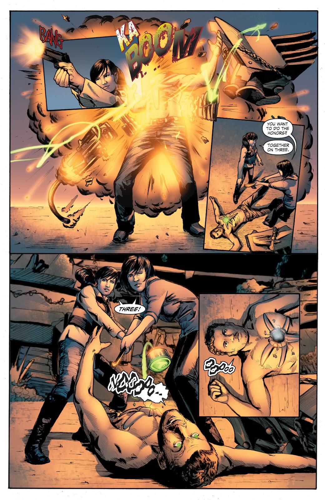 Read online Smallville Season 11 [II] comic -  Issue # TPB 4 - 140
