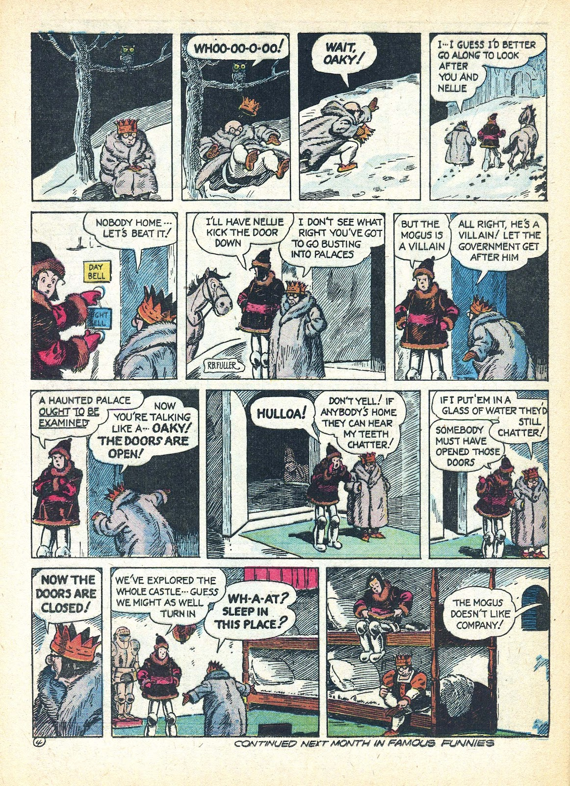Read online Famous Funnies comic -  Issue #95 - 45