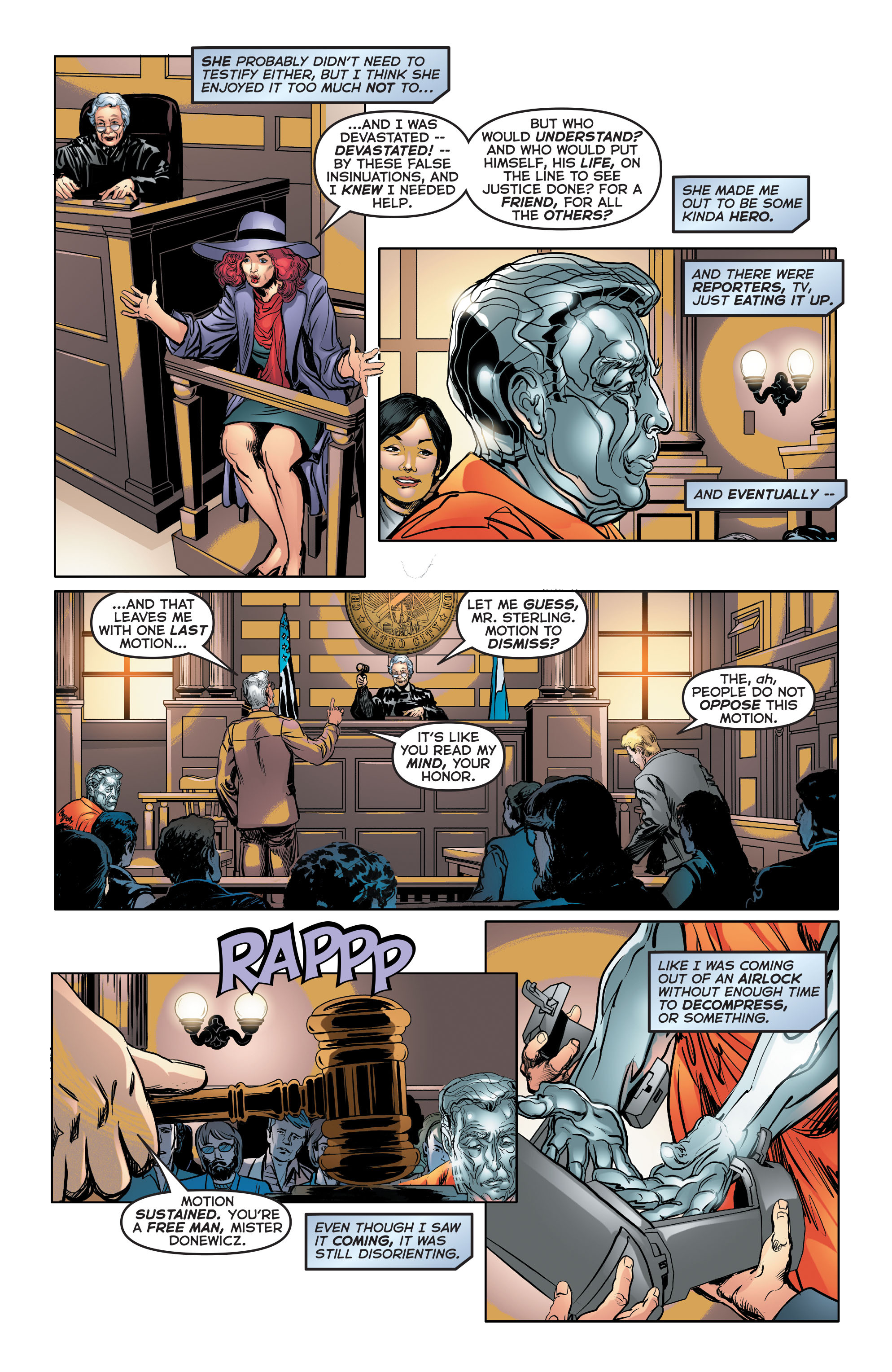 Read online Astro City comic -  Issue #34 - 22
