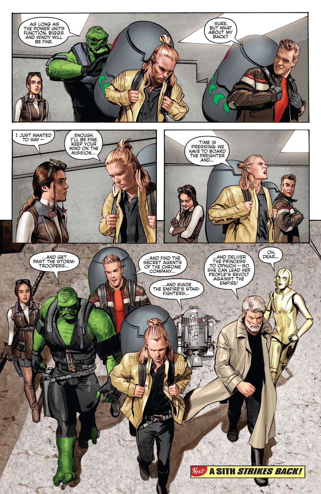Read online Star Wars Legends: Infinities - Epic Collection comic -  Issue # TPB (Part 4) - 92