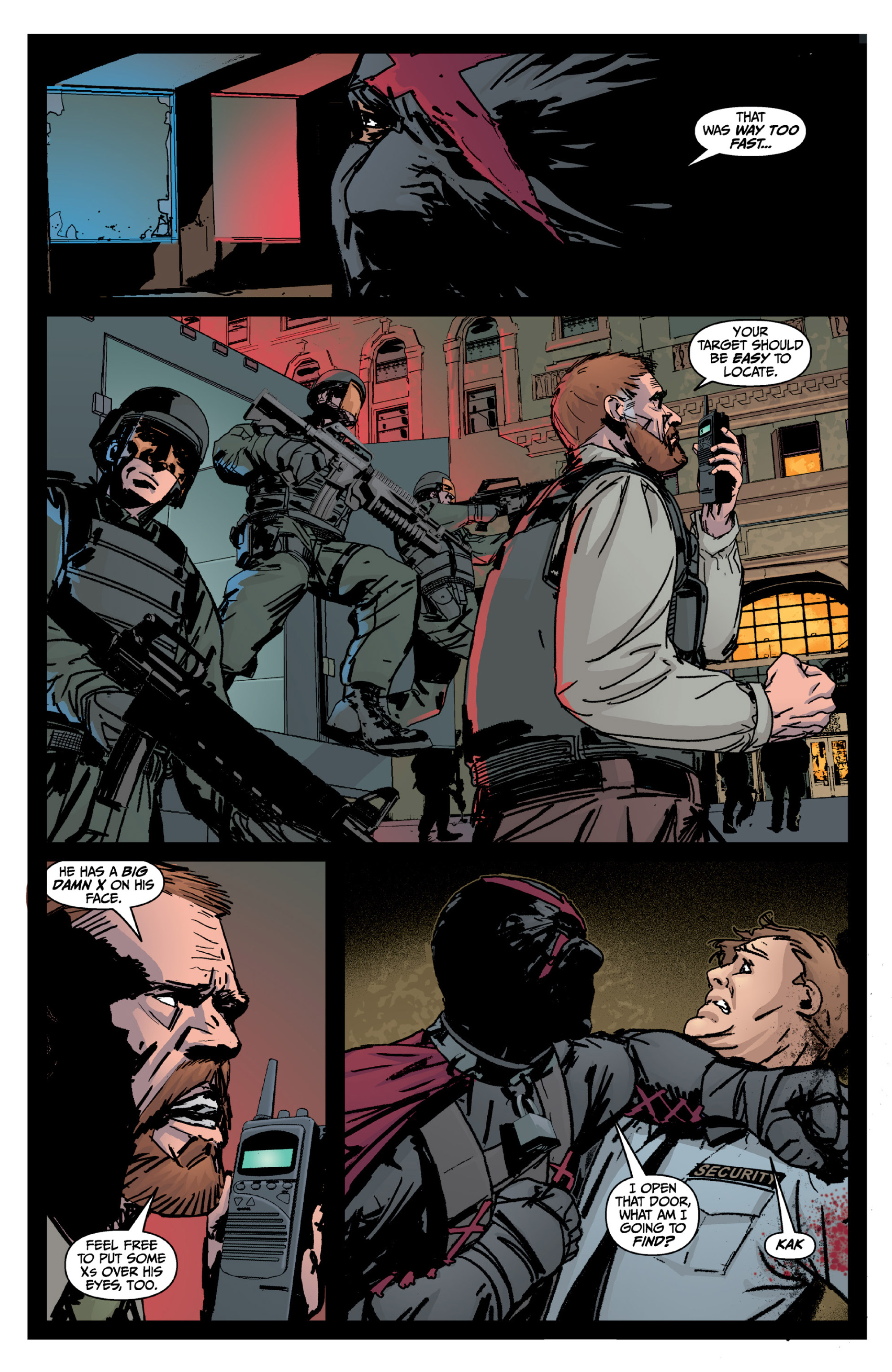 Read online X: Big Bad comic -  Issue # Full - 49