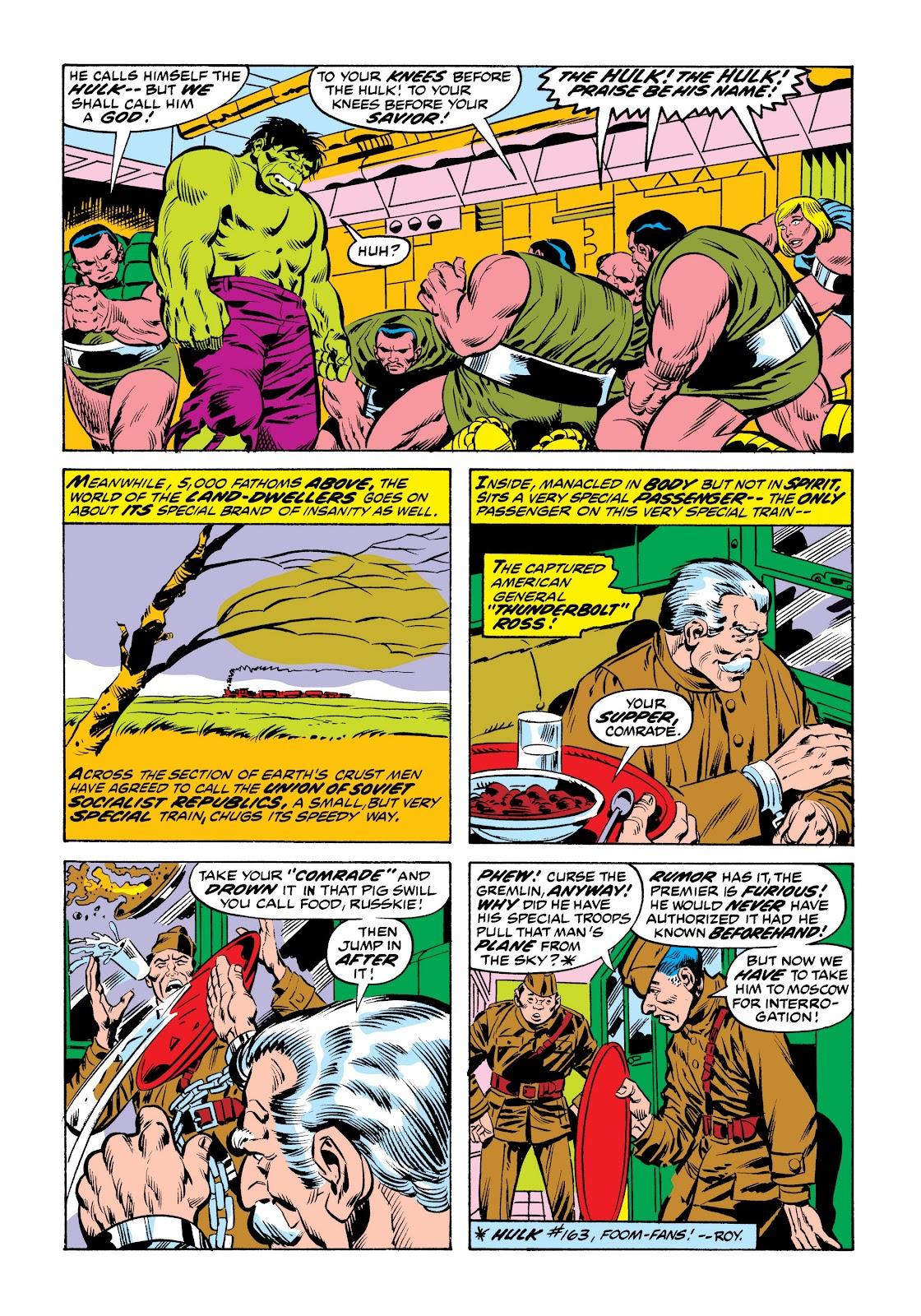 Read online Marvel Masterworks: The Incredible Hulk comic -  Issue # TPB 9 (Part 2) - 82