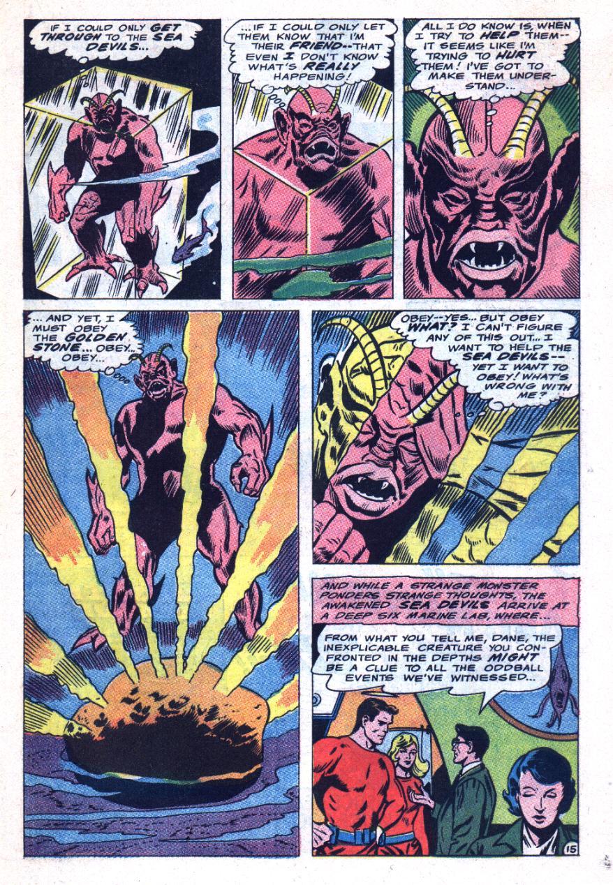 Read online Sea Devils comic -  Issue #31 - 20
