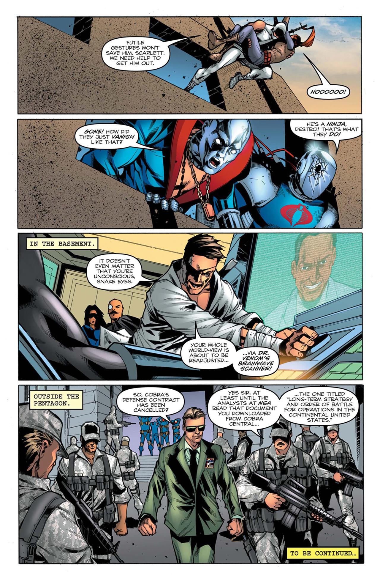 G.I. Joe: A Real American Hero 159 Page 25