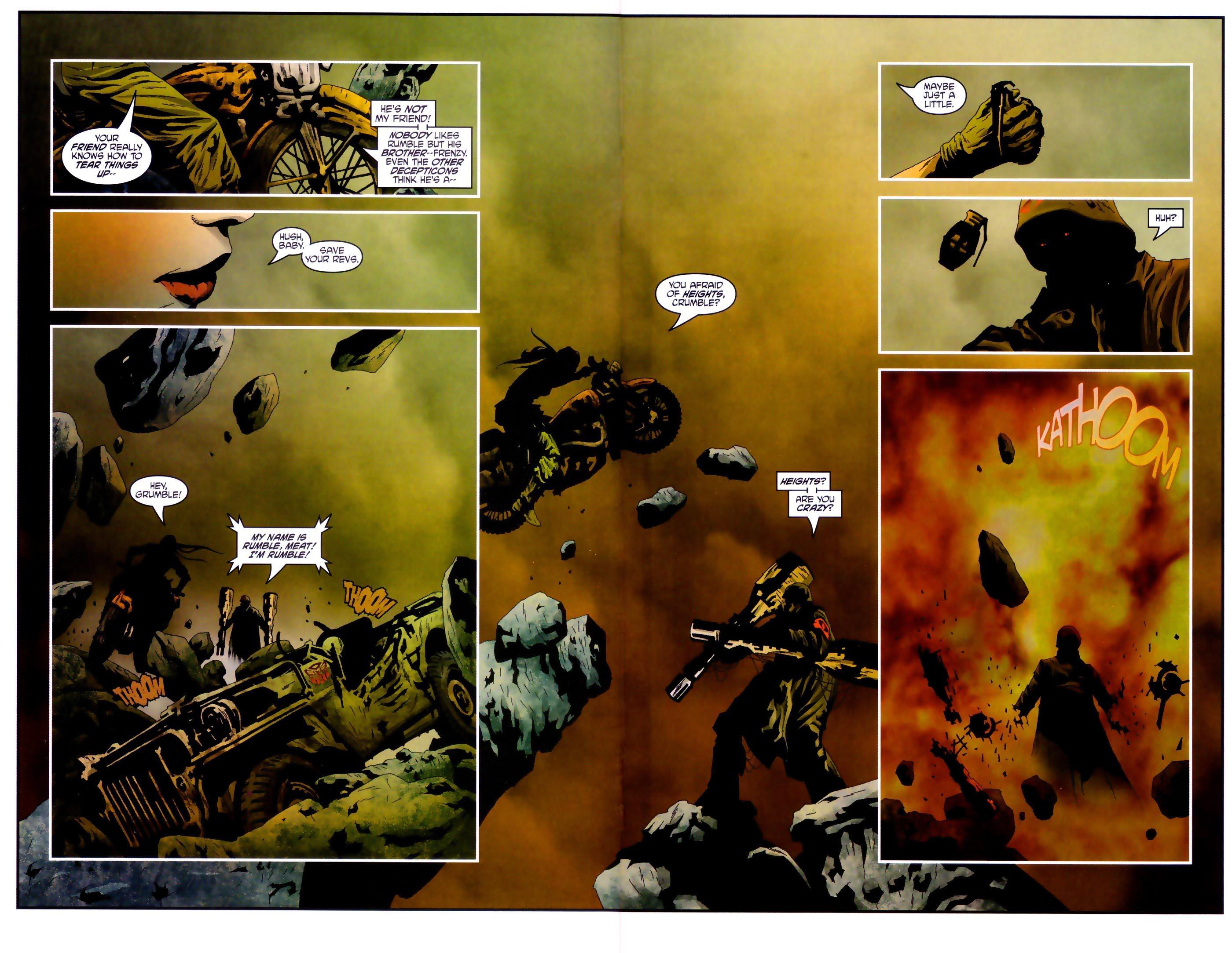Read online Transformers/G.I. Joe comic -  Issue #4 - 10
