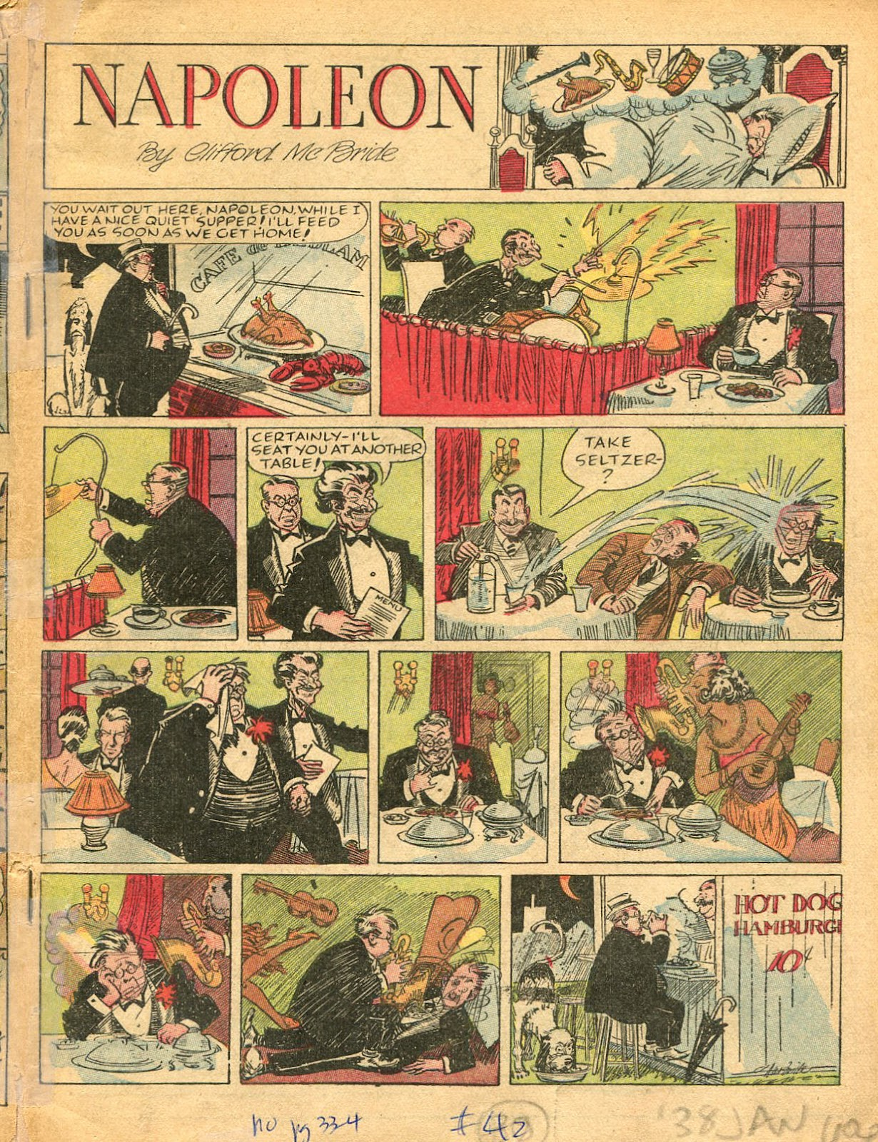 Read online Famous Funnies comic -  Issue #42 - 2