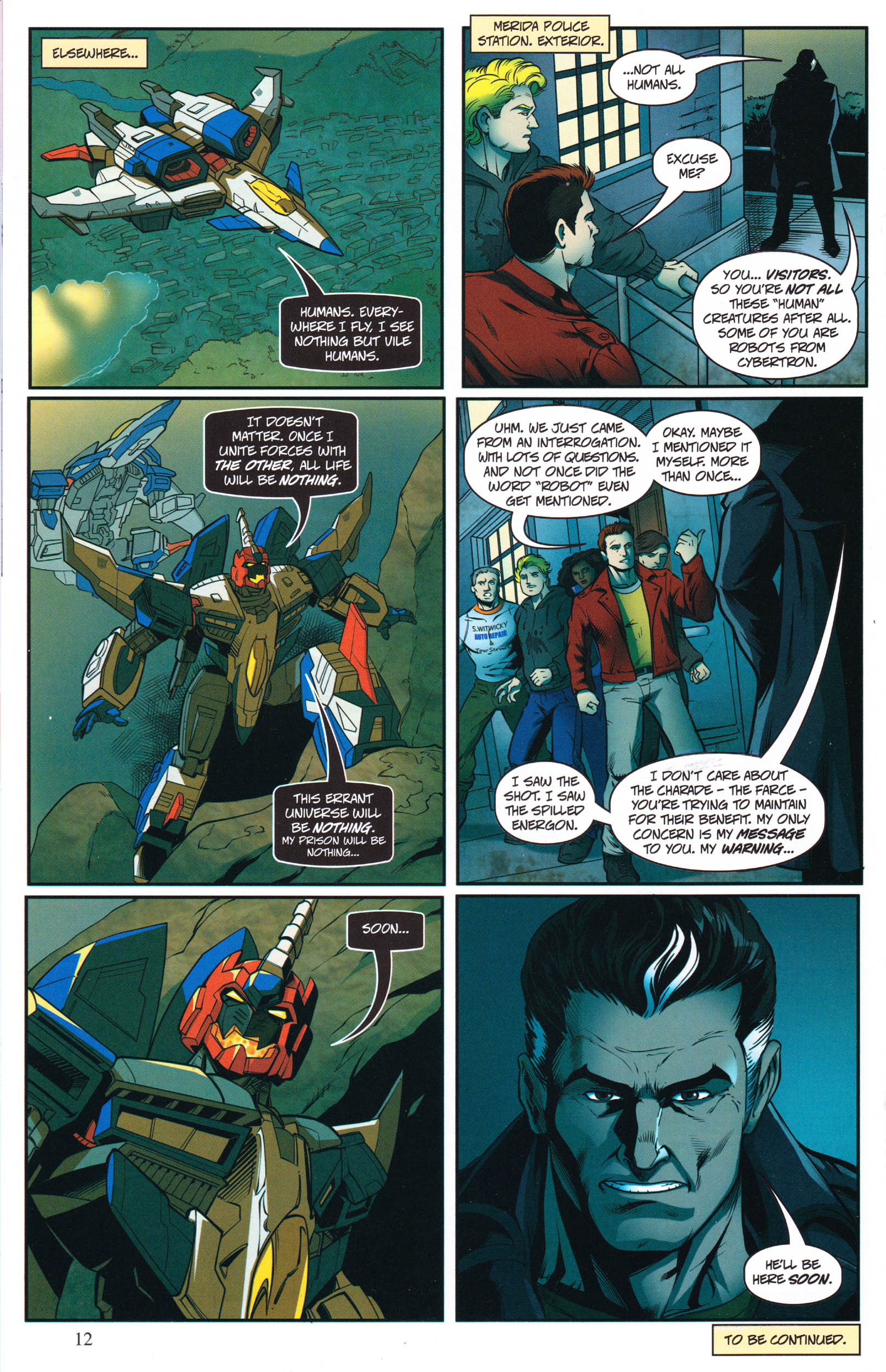 Read online Transformers: Collectors' Club comic -  Issue #68 - 12