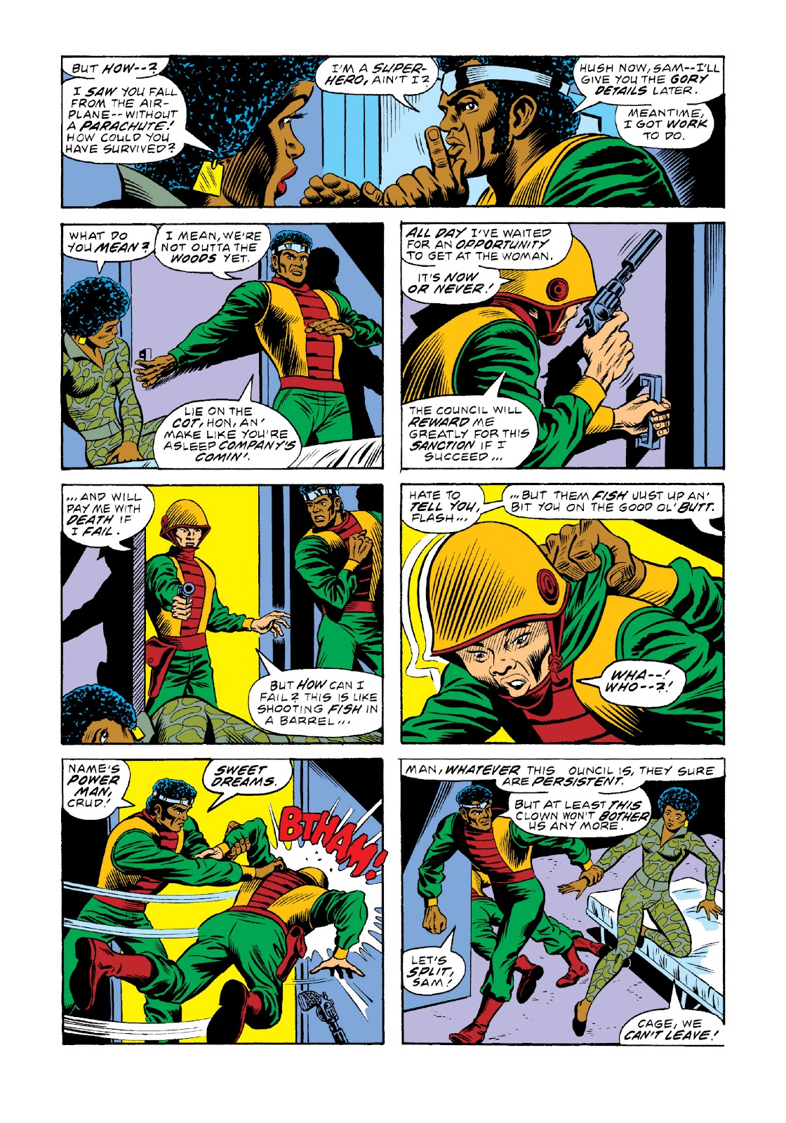 Read online Marvel Masterworks: Luke Cage, Power Man comic -  Issue # TPB 3 (Part 2) - 5