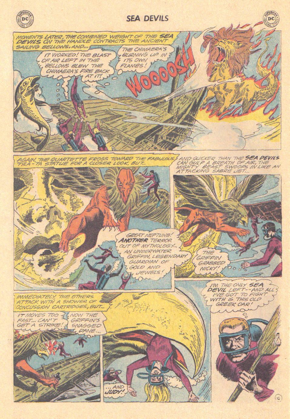 Read online Sea Devils comic -  Issue #16 - 28