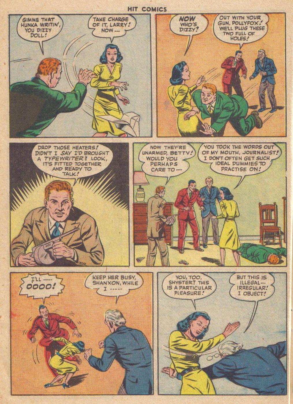 Read online Hit Comics comic -  Issue #46 - 36