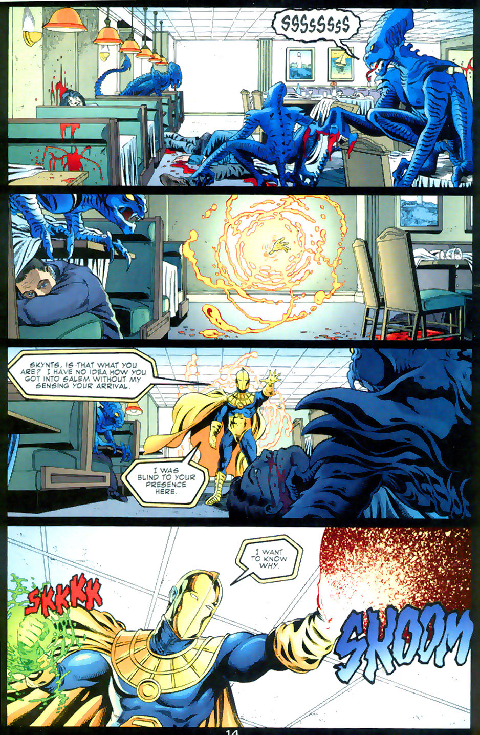 Read online Doctor Fate (2003) comic -  Issue #2 - 15
