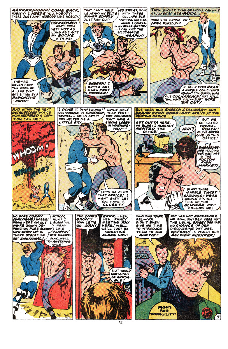 Read online Sgt. Fury comic -  Issue #164 - 33
