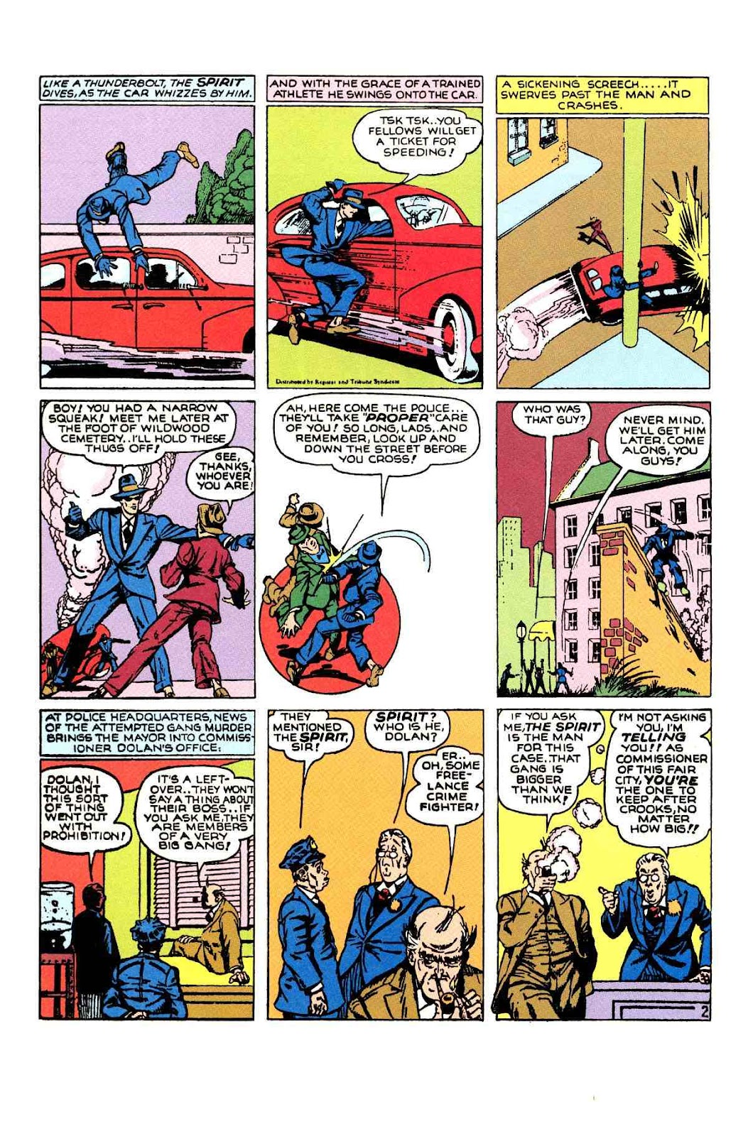 Read online Will Eisner's The Spirit Archives comic -  Issue # TPB 1 (Part 2) - 15