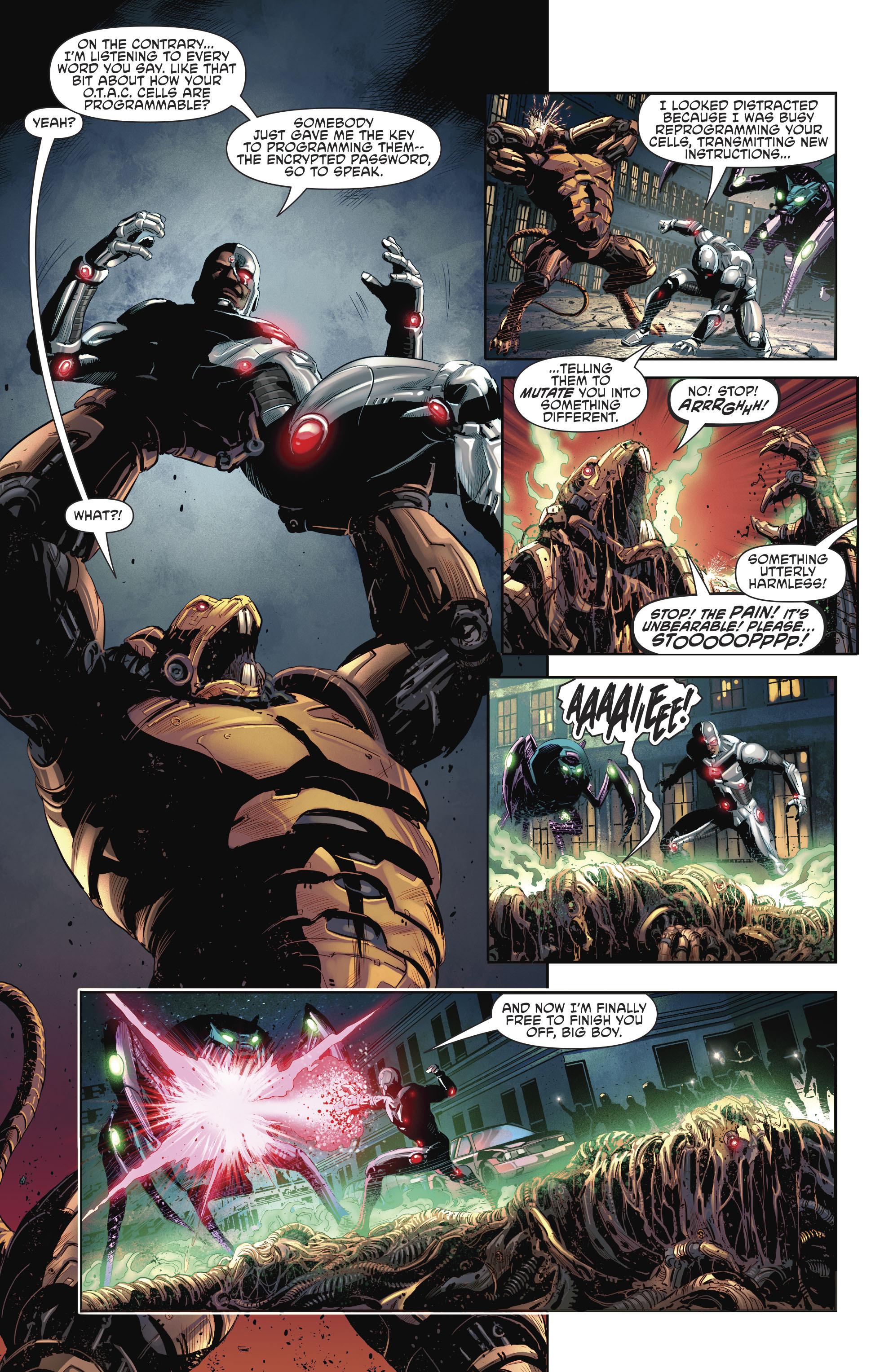 Read online Cyborg (2016) comic -  Issue #12 - 22
