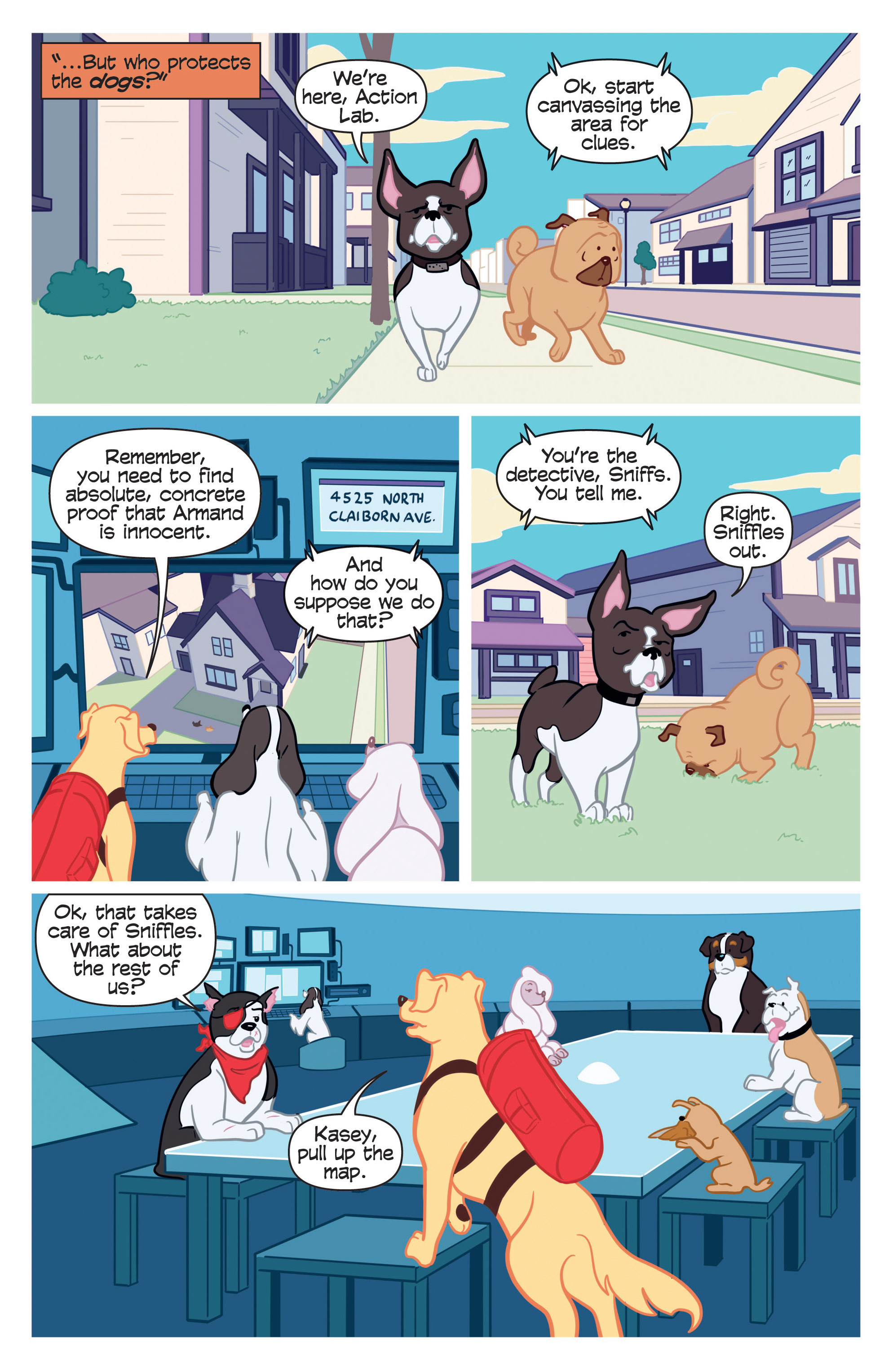Read online Action Lab, Dog of Wonder comic -  Issue #2 - 14