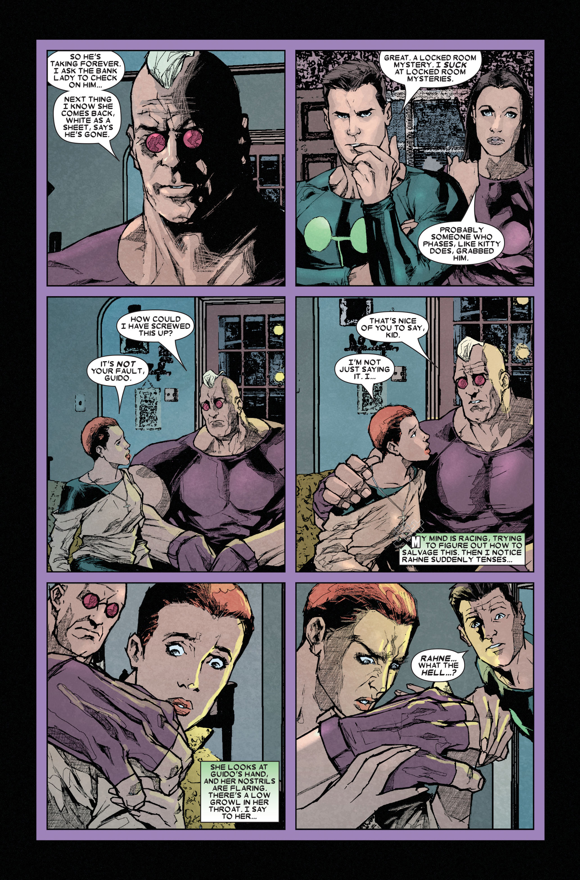 Read online X-Factor (2006) comic -  Issue #11 - 8
