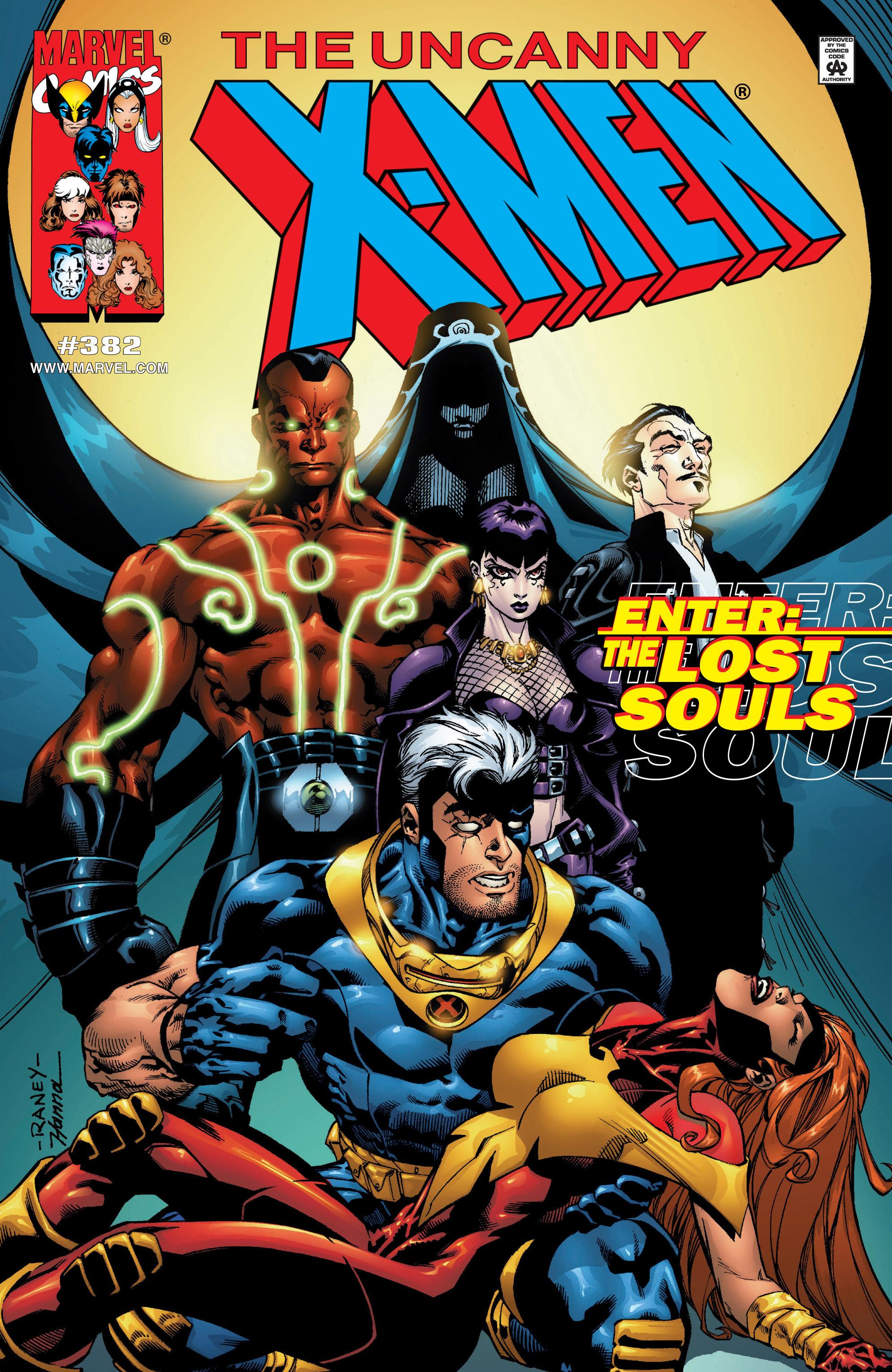 Uncanny X-Men (1963) 382 Page 1