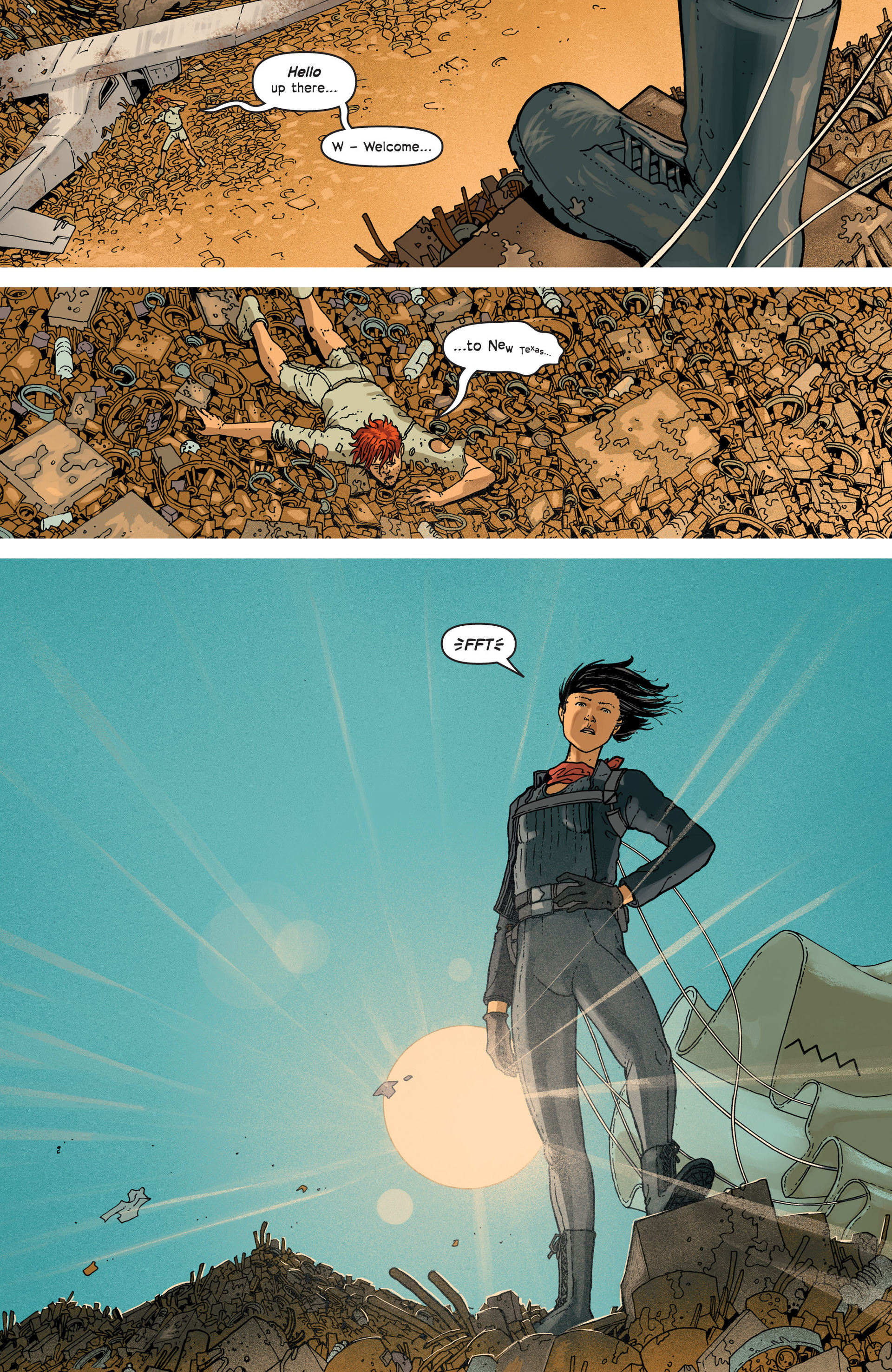 Read online Great Pacific comic -  Issue #3 - 17