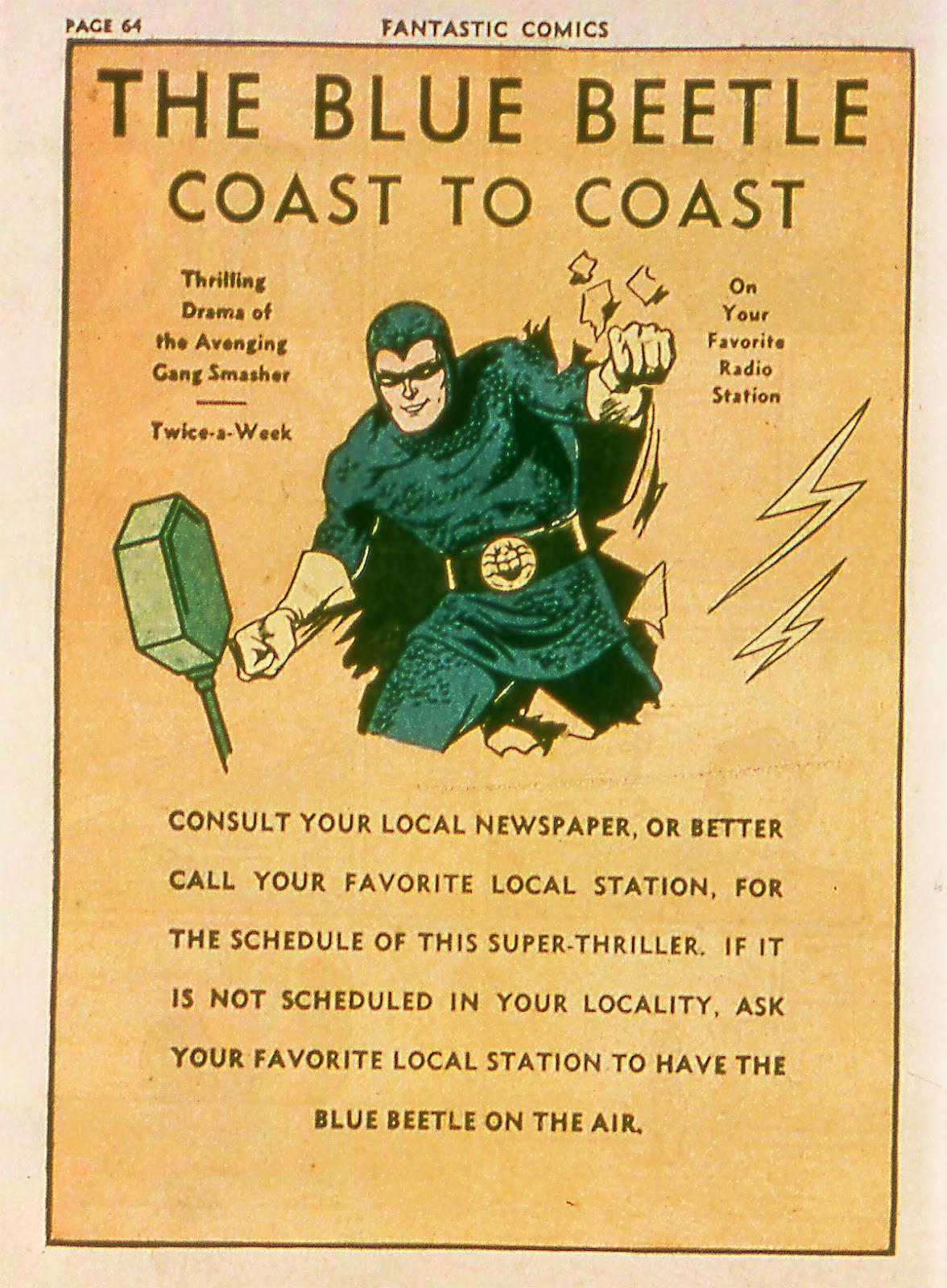Read online Fantastic Comics comic -  Issue #18 - 66