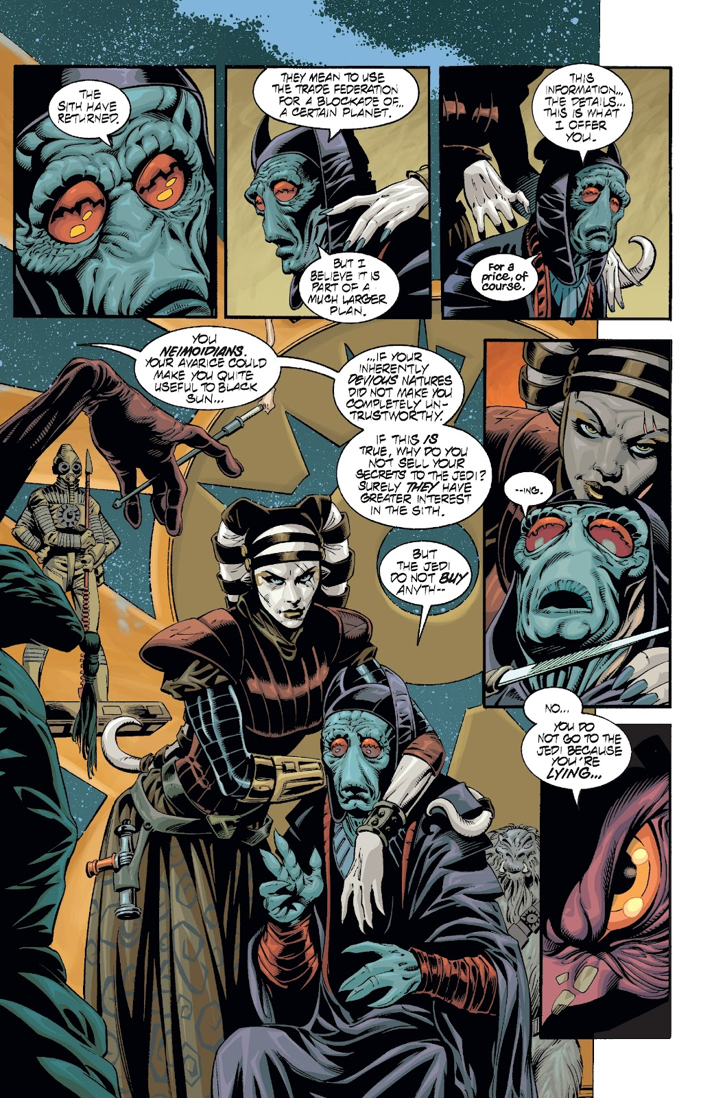 Read online Star Wars Legends: Rise of the Sith - Epic Collection comic -  Issue # TPB 2 (Part 2) - 72