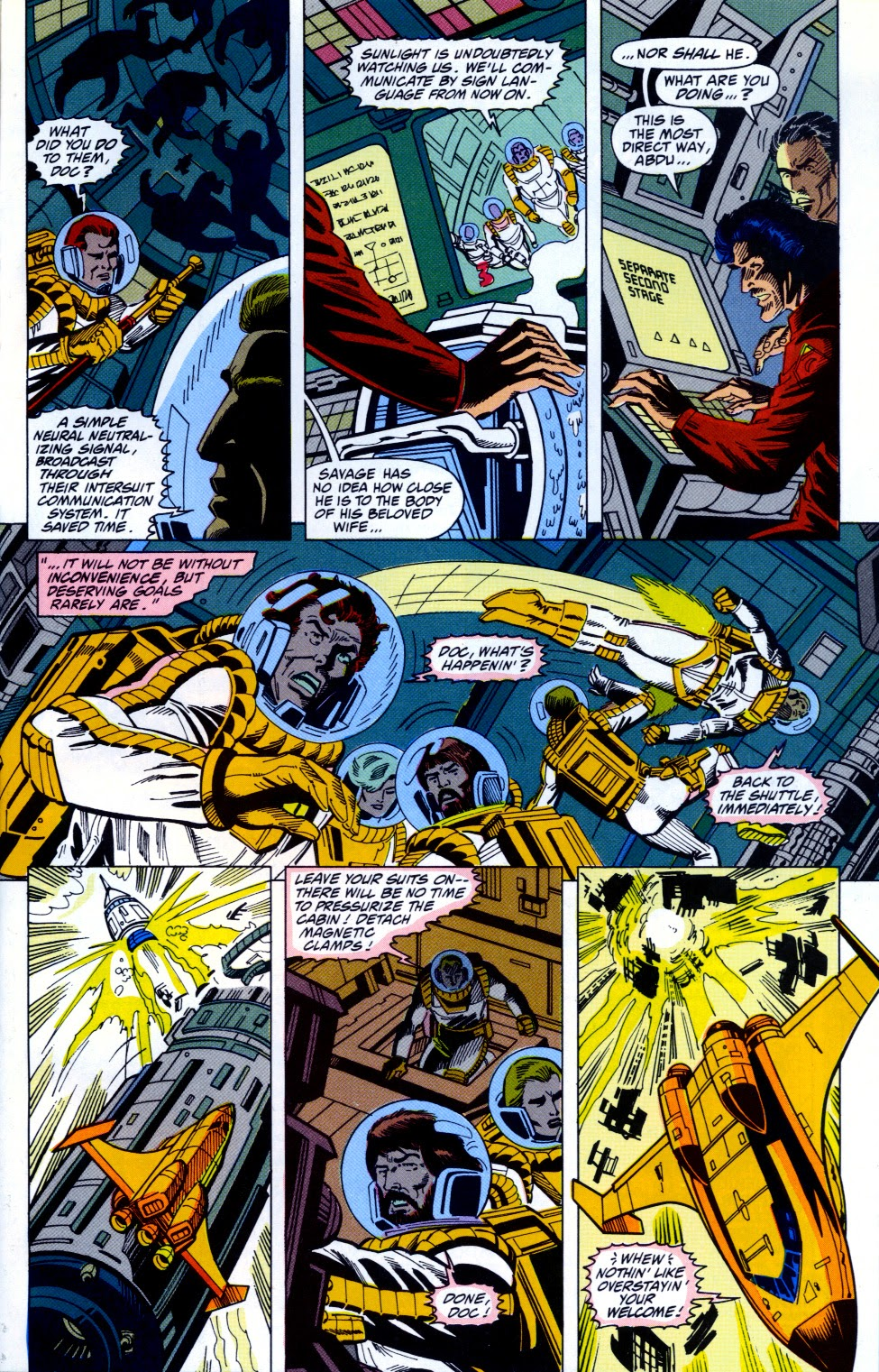 Doc Savage (1988) issue 13 - Page 22