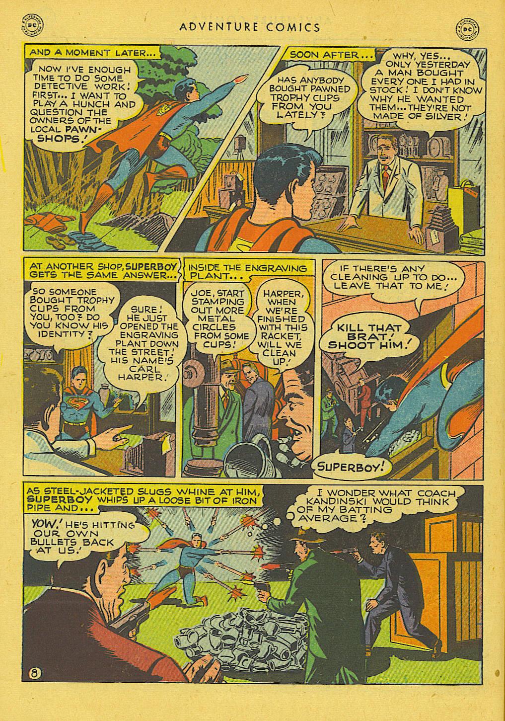 Read online Adventure Comics (1938) comic -  Issue #131 - 9