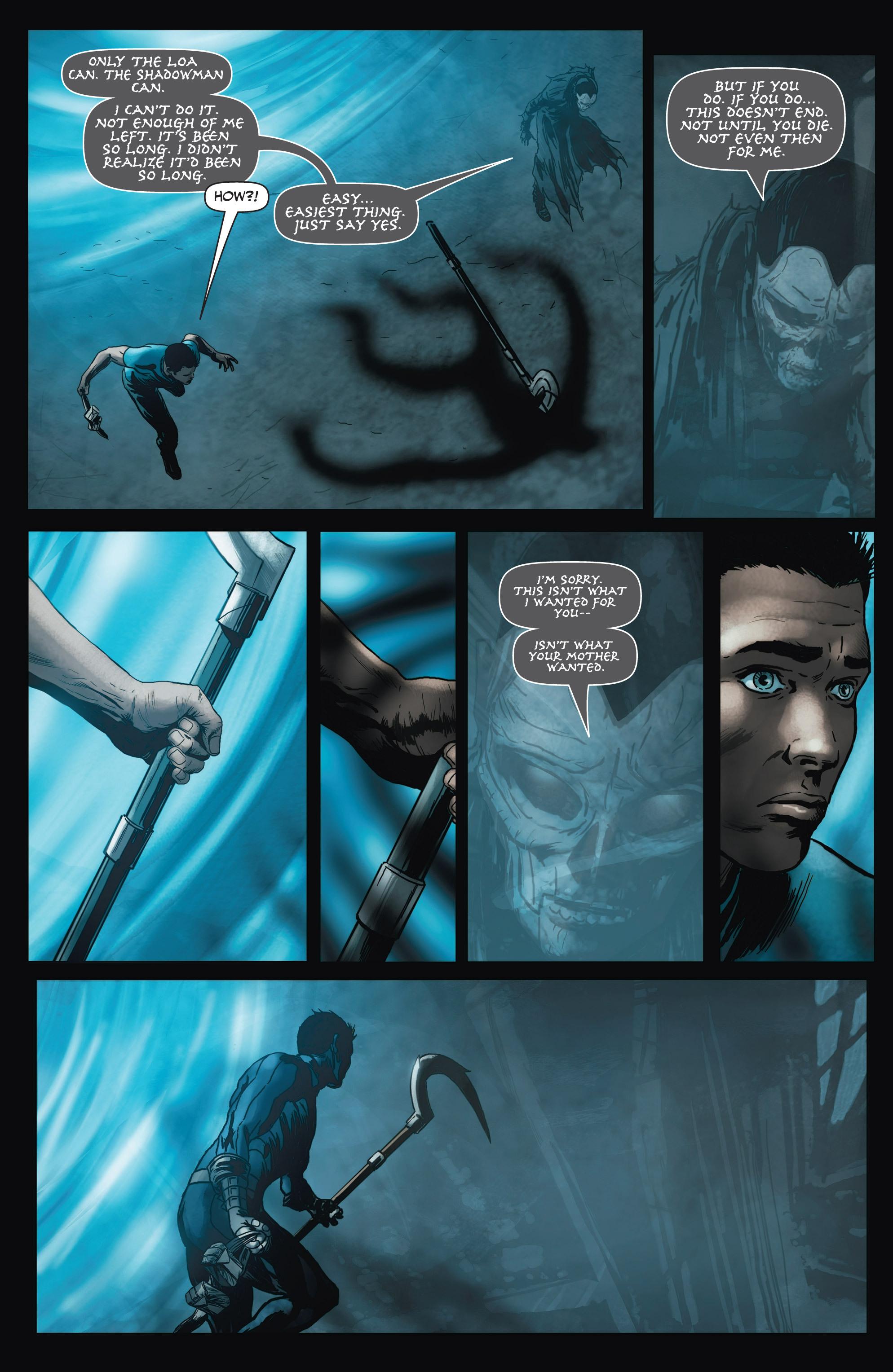 Read online Shadowman (2012) comic -  Issue #3 - 21