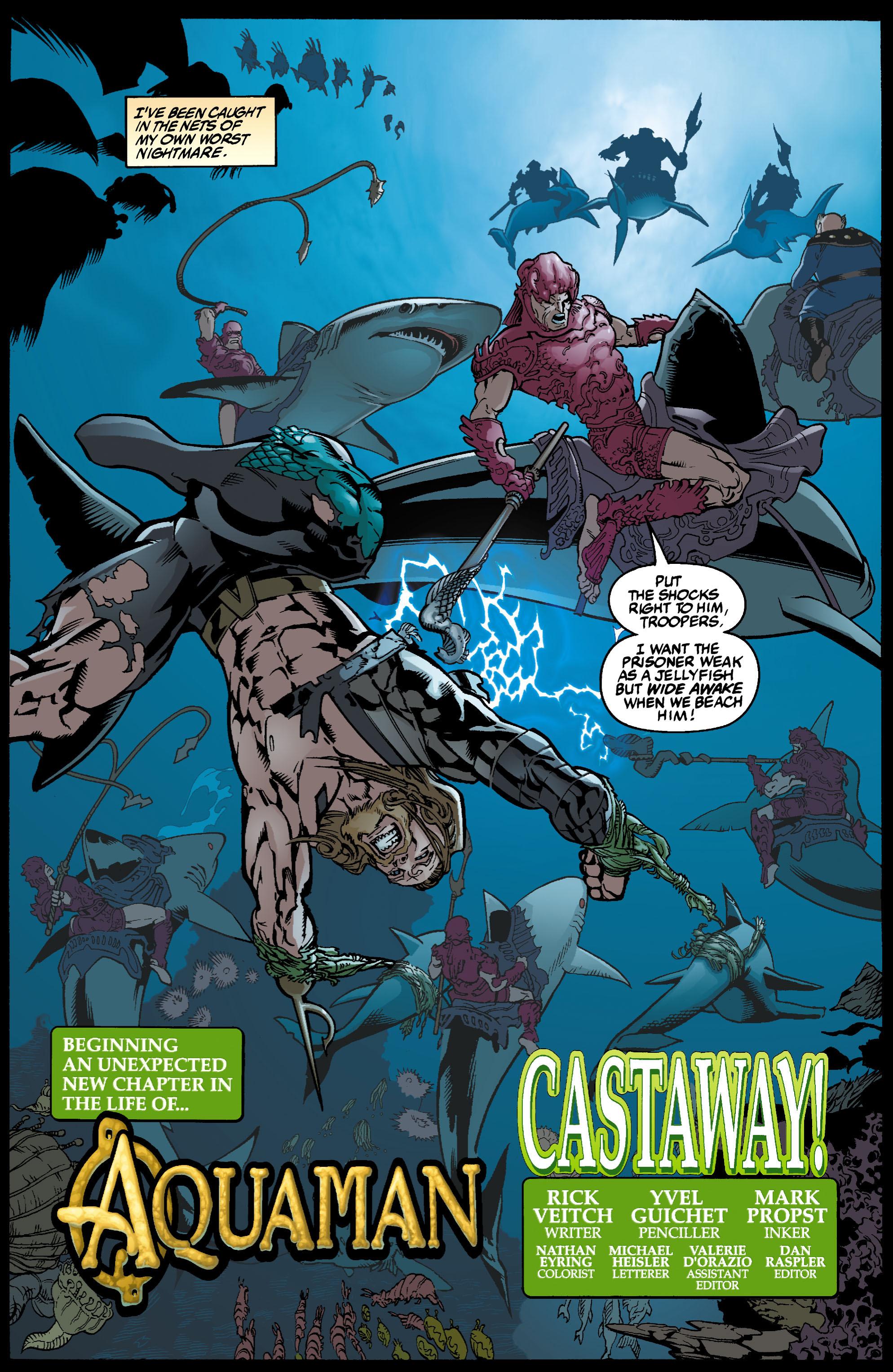 Read online Aquaman (2003) comic -  Issue #1 - 5