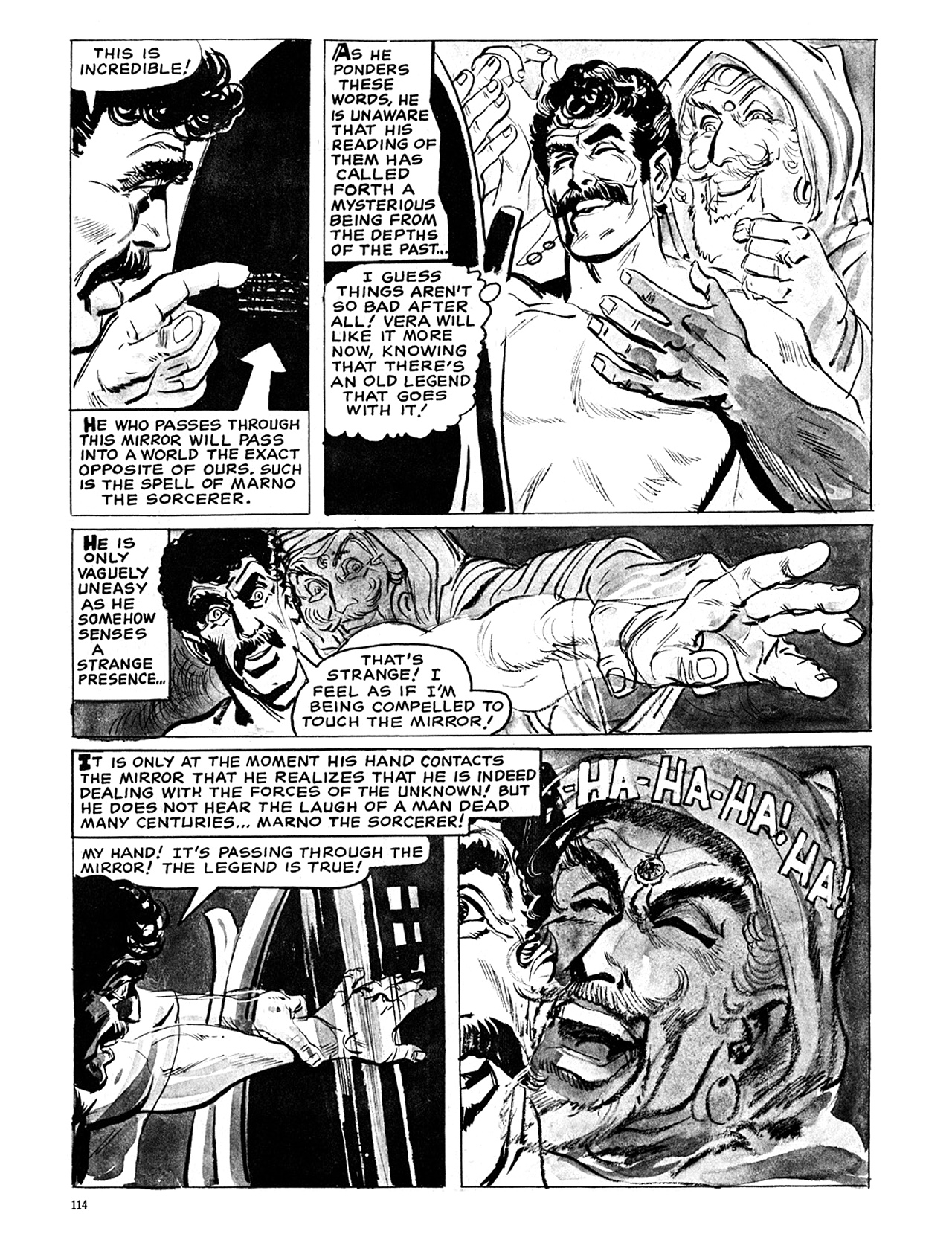 Read online Eerie Archives comic -  Issue # TPB 6 - 114