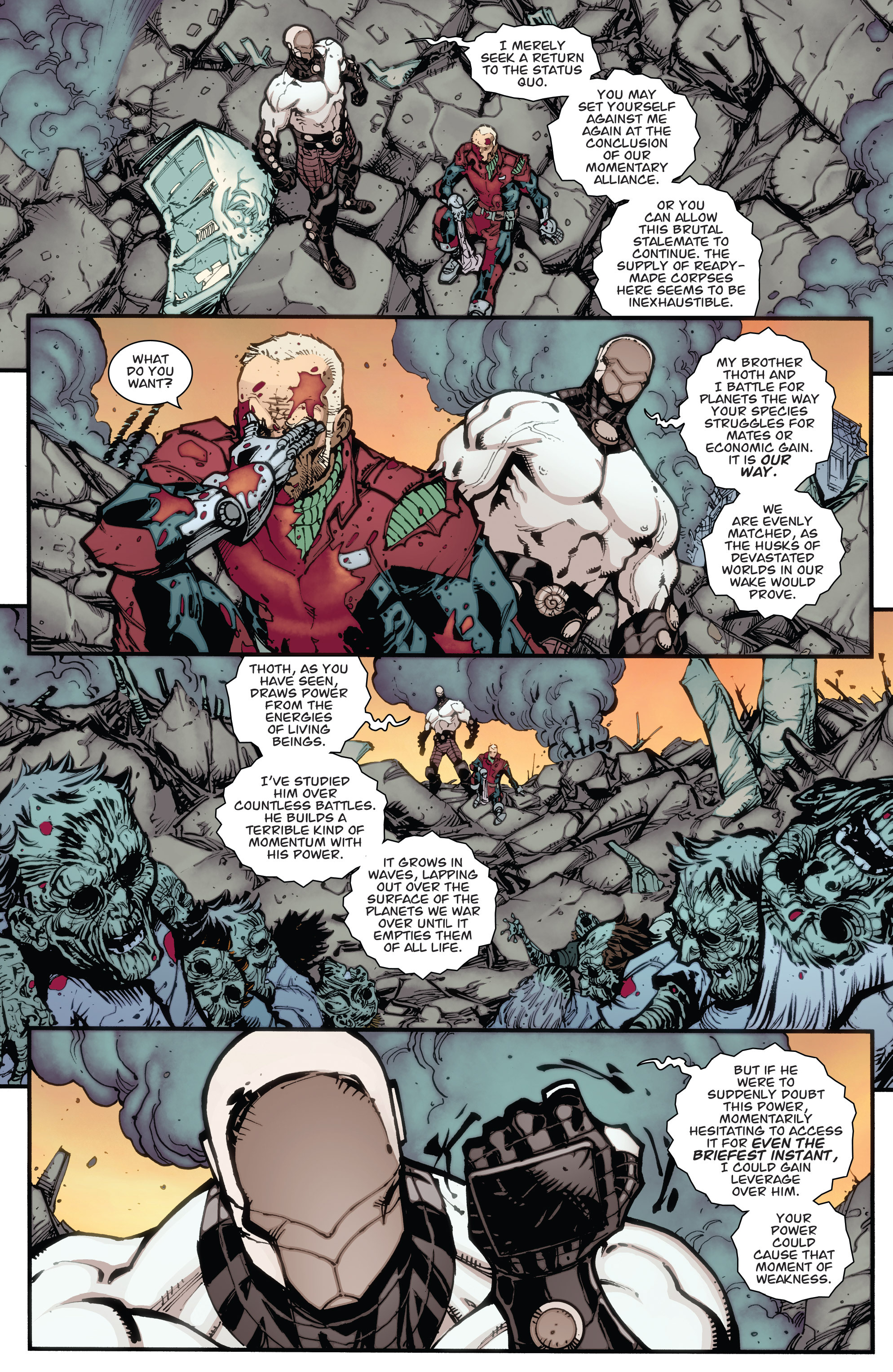 Read online Guarding the Globe (2012) comic -  Issue #6 - 16
