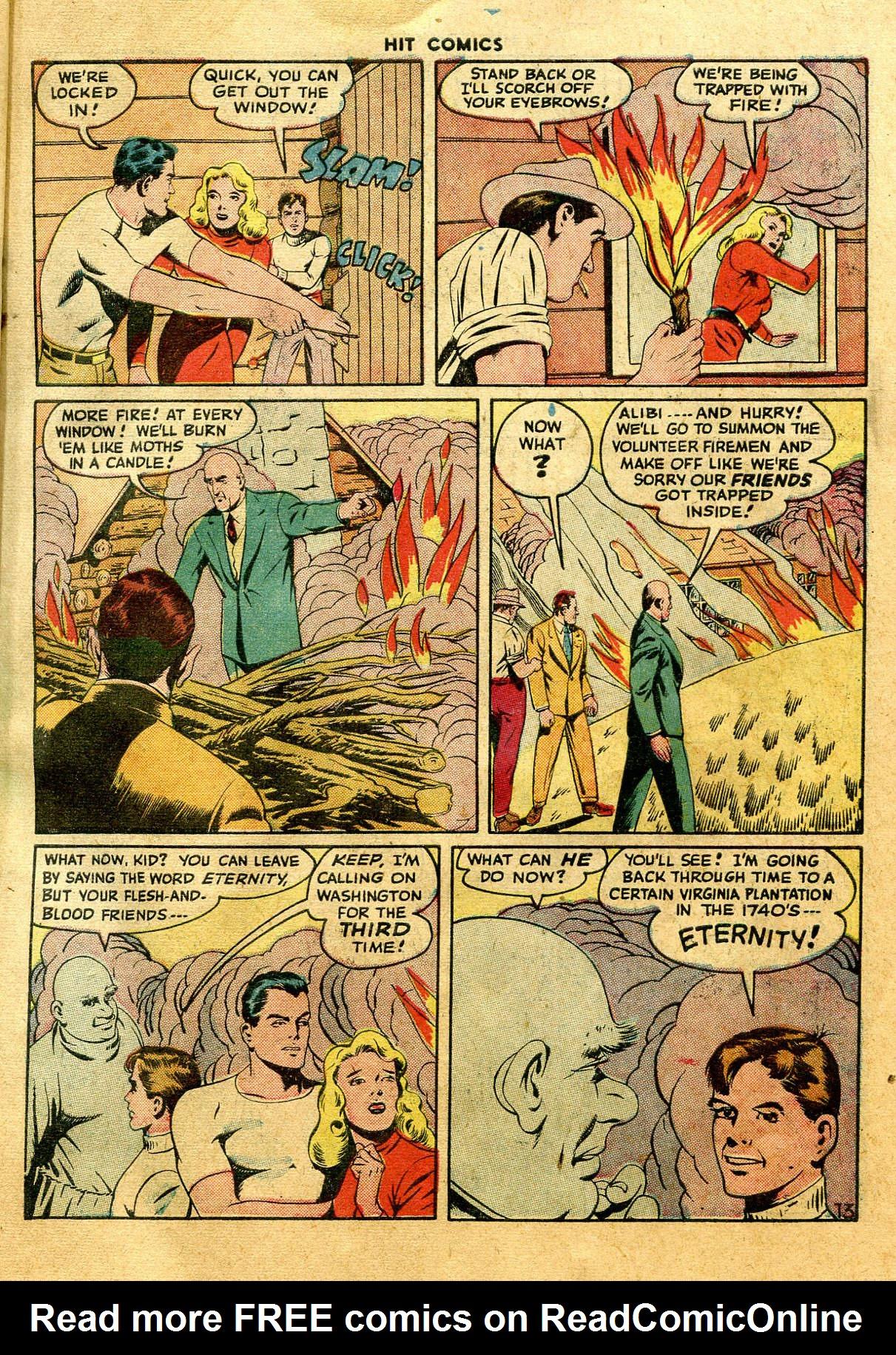 Read online Hit Comics comic -  Issue #44 - 15