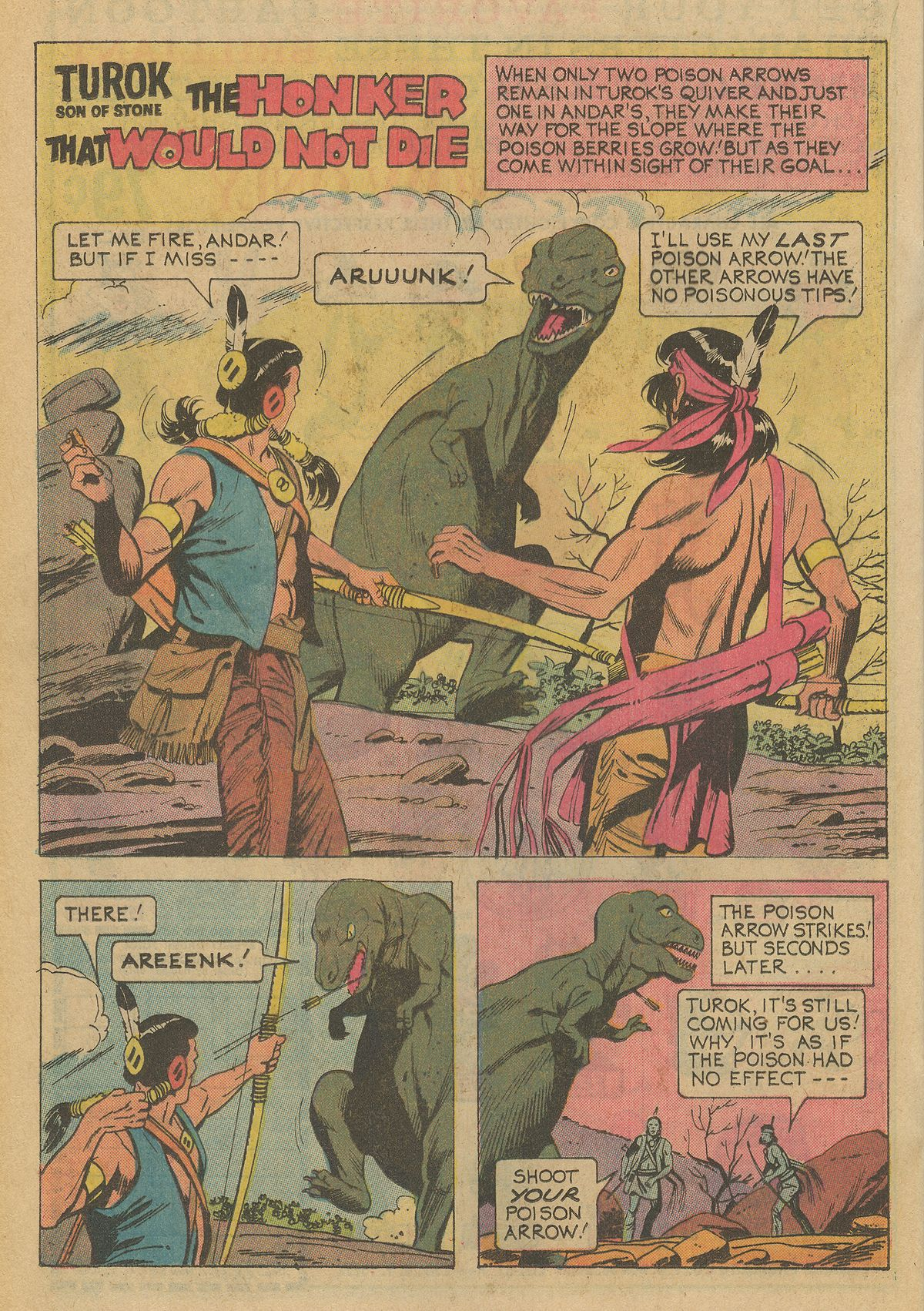 Read online Turok, Son of Stone comic -  Issue #95 - 20