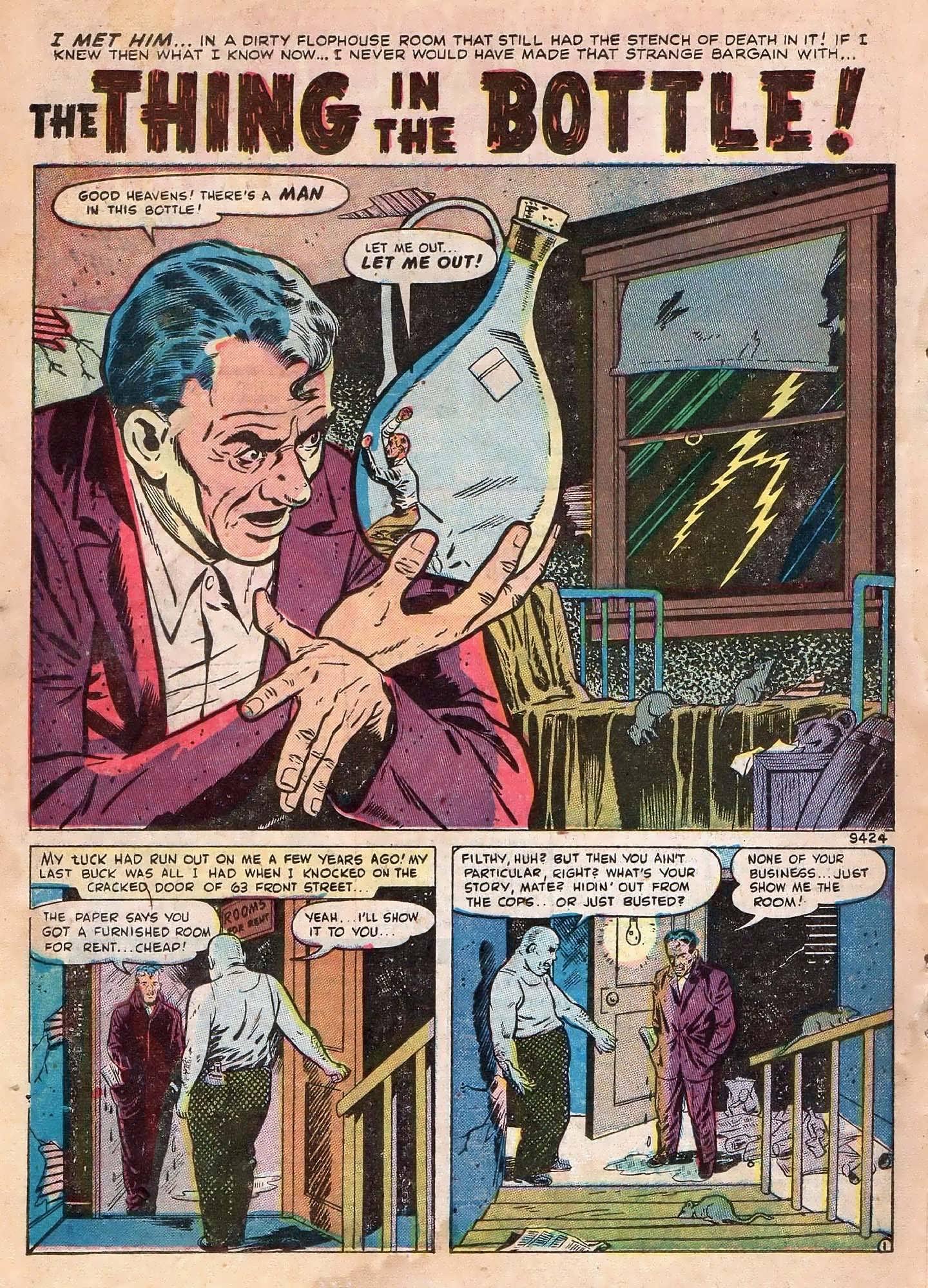 Read online Adventures into Weird Worlds comic -  Issue #2 - 22